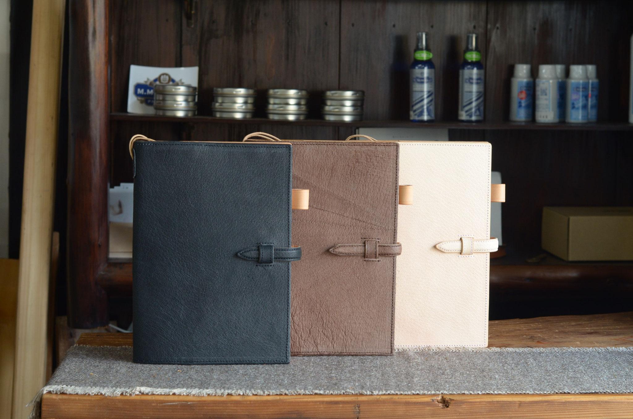 手帳カバーA5サイズ(猪)