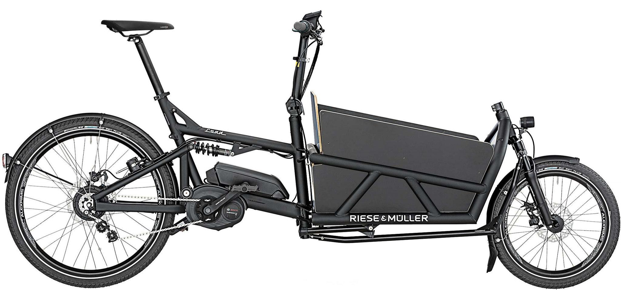 Riese & Müller Load 60 vario / Load 60 vario HS - graphite matt