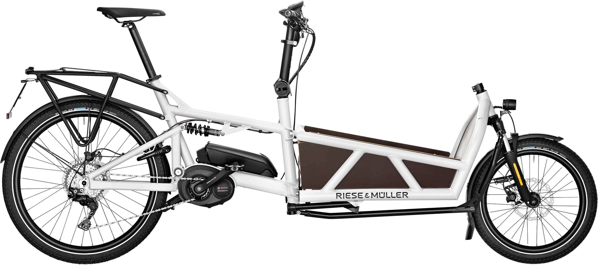 Riese & Müller Load 60 touring / Load 60 touring HS - white