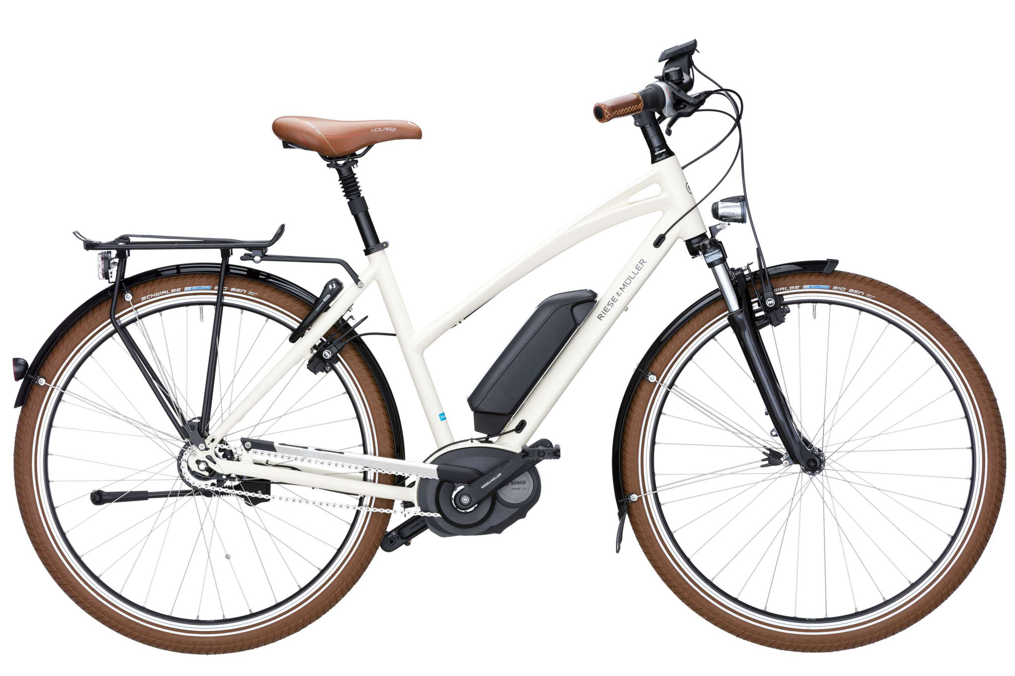 Riese & Müller Cruiser Mixte nuvinci / Cruiser Mixte nuvinci HS 2018 - creme