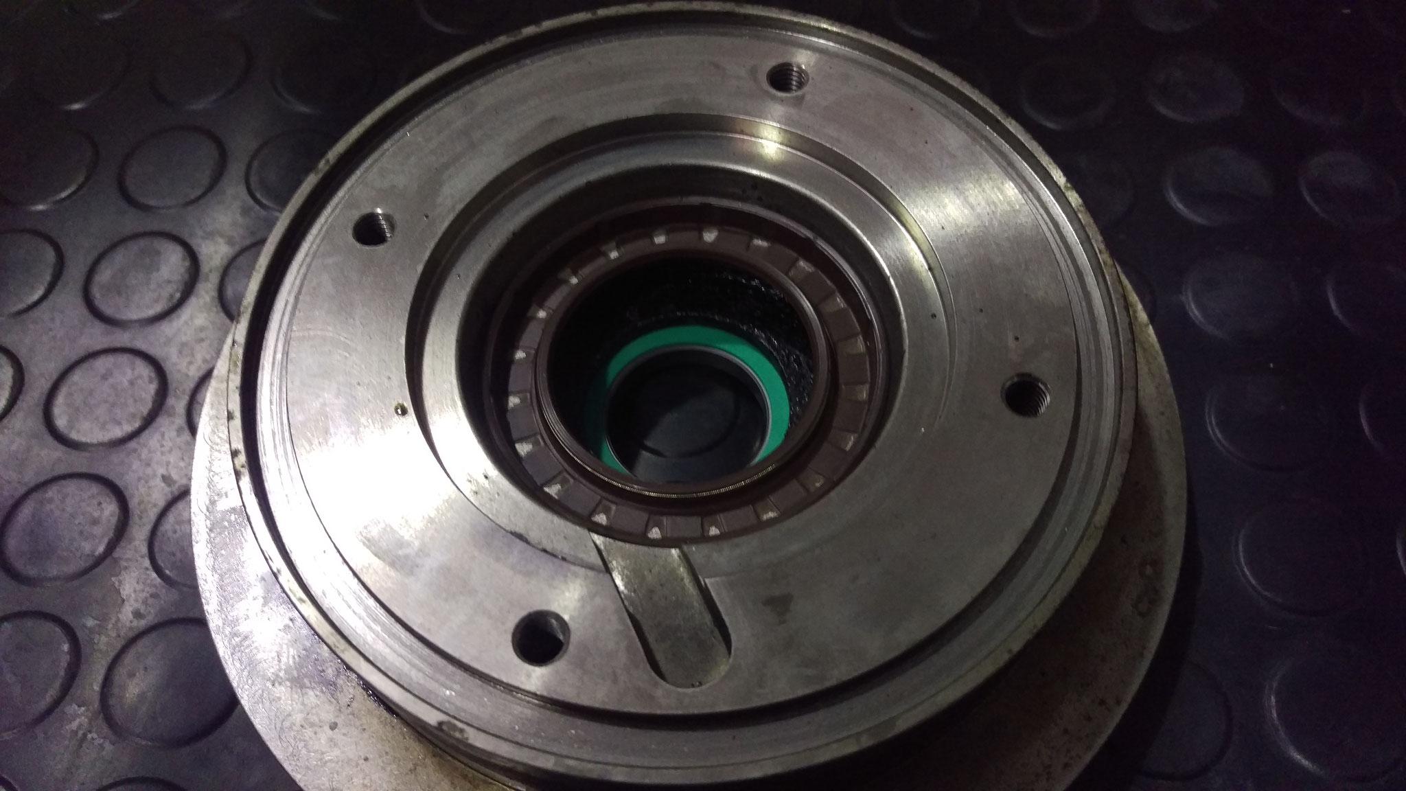 Overhaul of coolant pump