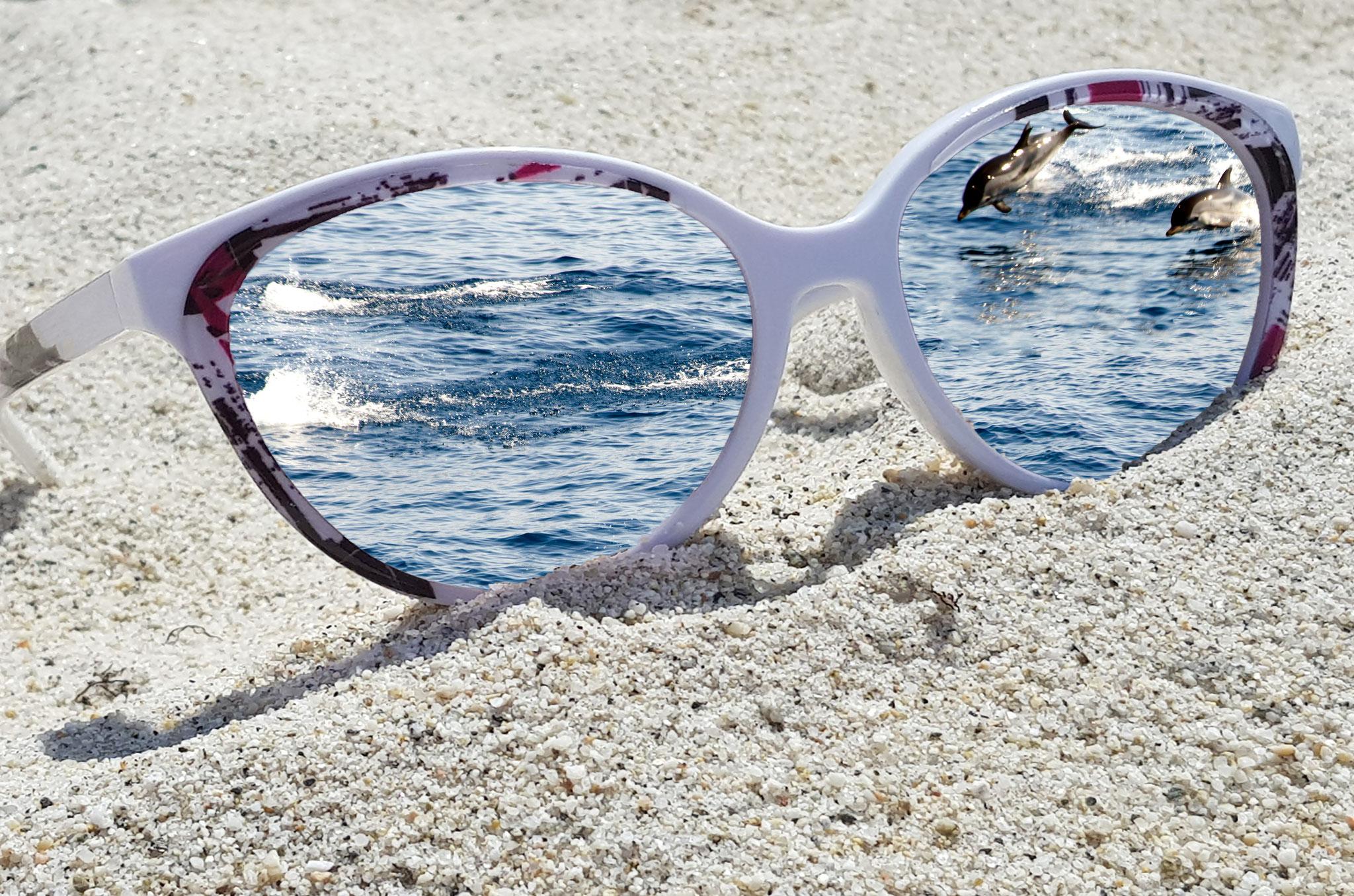 Leinwandbild Brille Delphine
