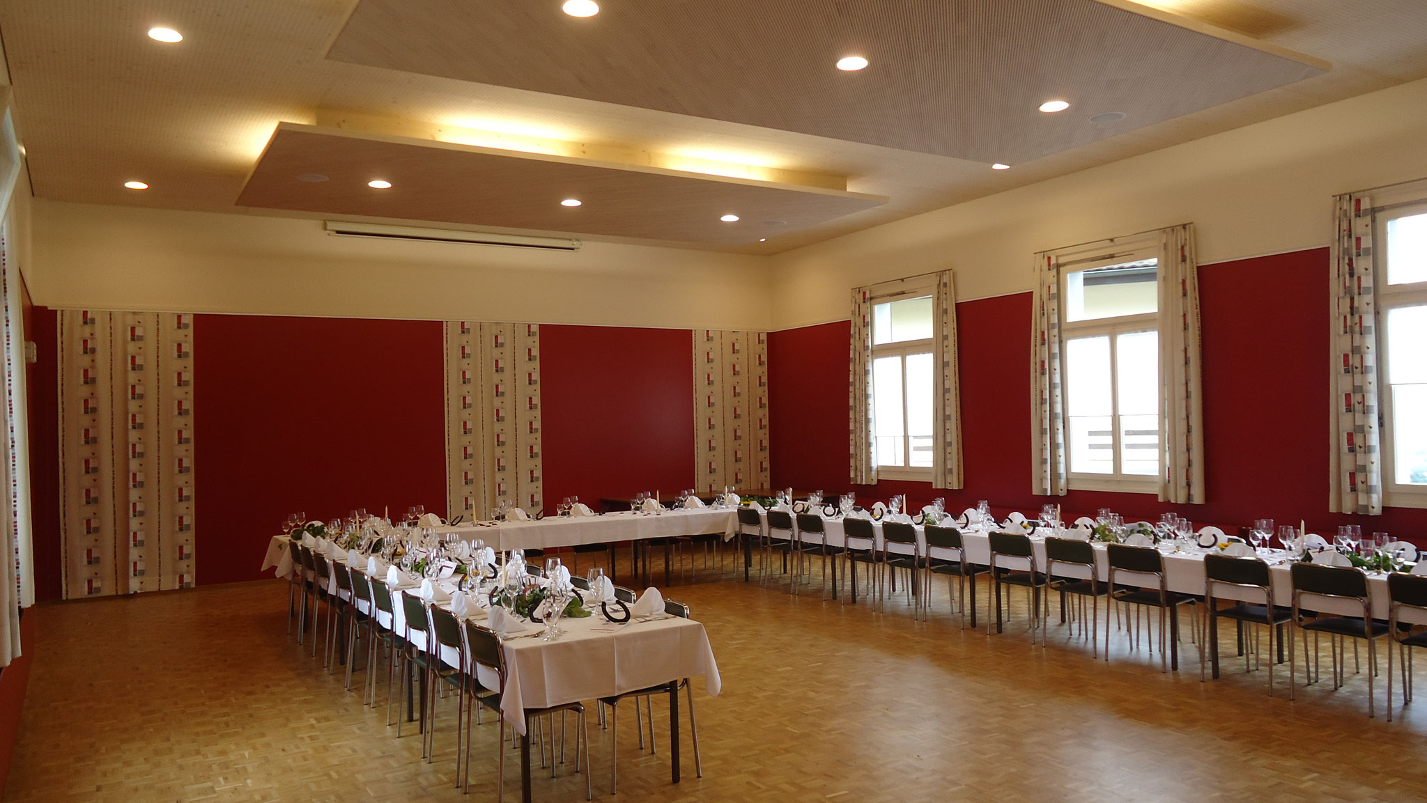 Saalsanierung Restaurant Hohe Lust