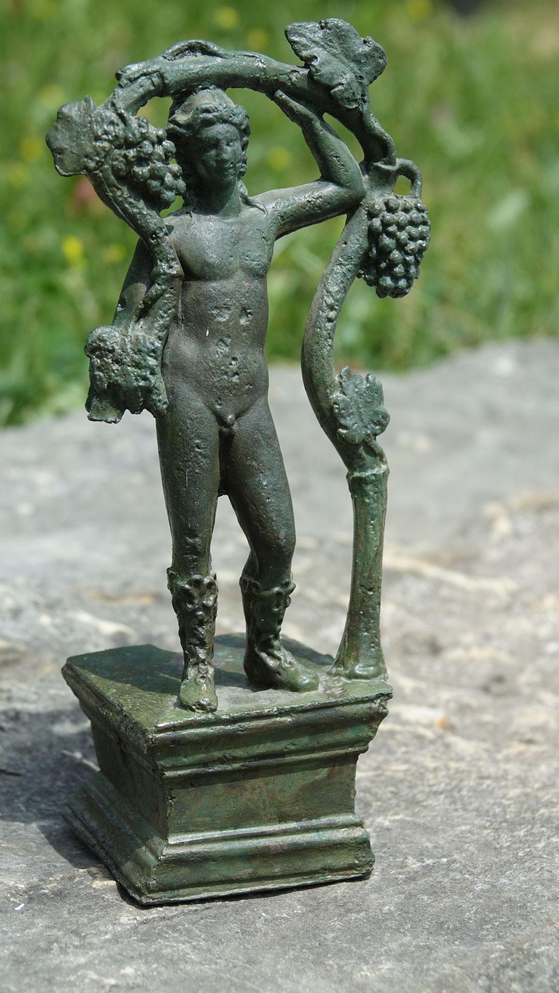 Die original Statuette aus Bronze