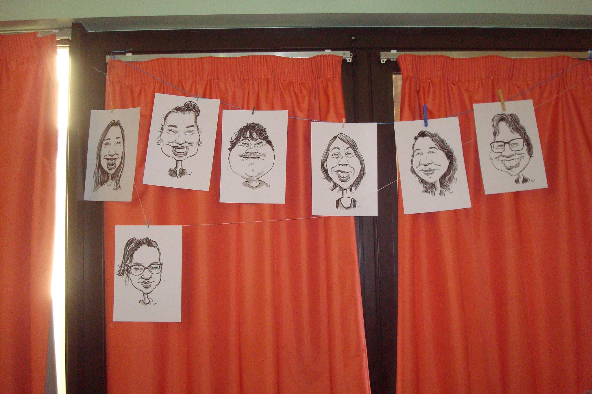 ARTS GRAPHIQUES : caricatures, tatouages éphémères,BD Anuki, zentangle, kamishibaï