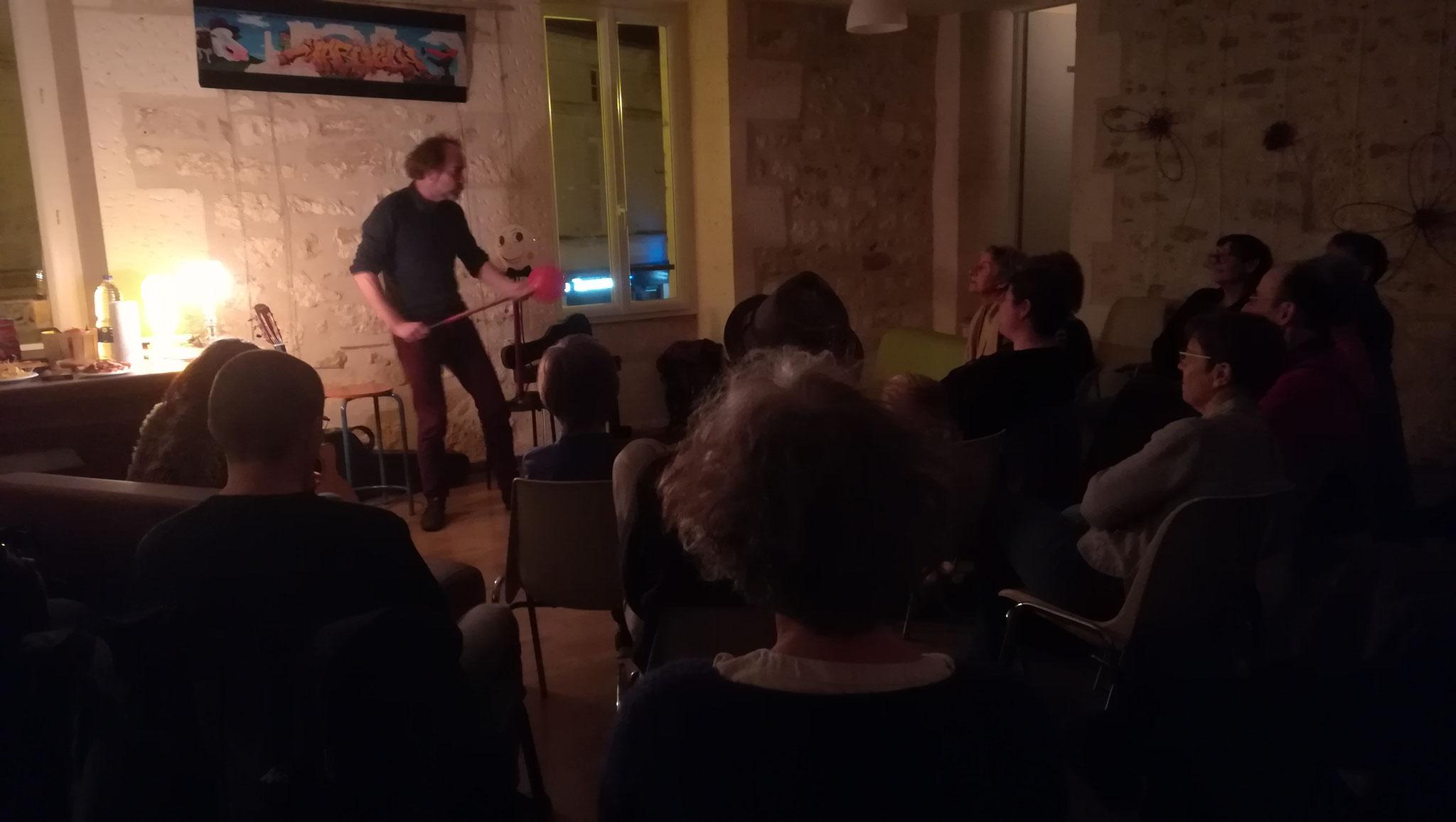 Veillée Littéraire avec David Sire à Mareuil