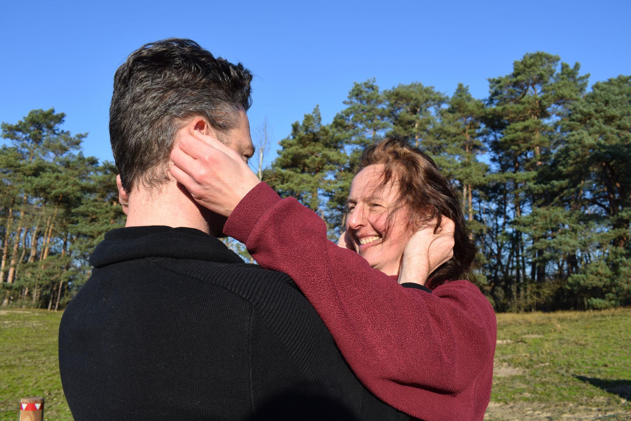 Die Denkmütze - eine Massage der Ohren- geht allein und ganz gern auch zu zweien.