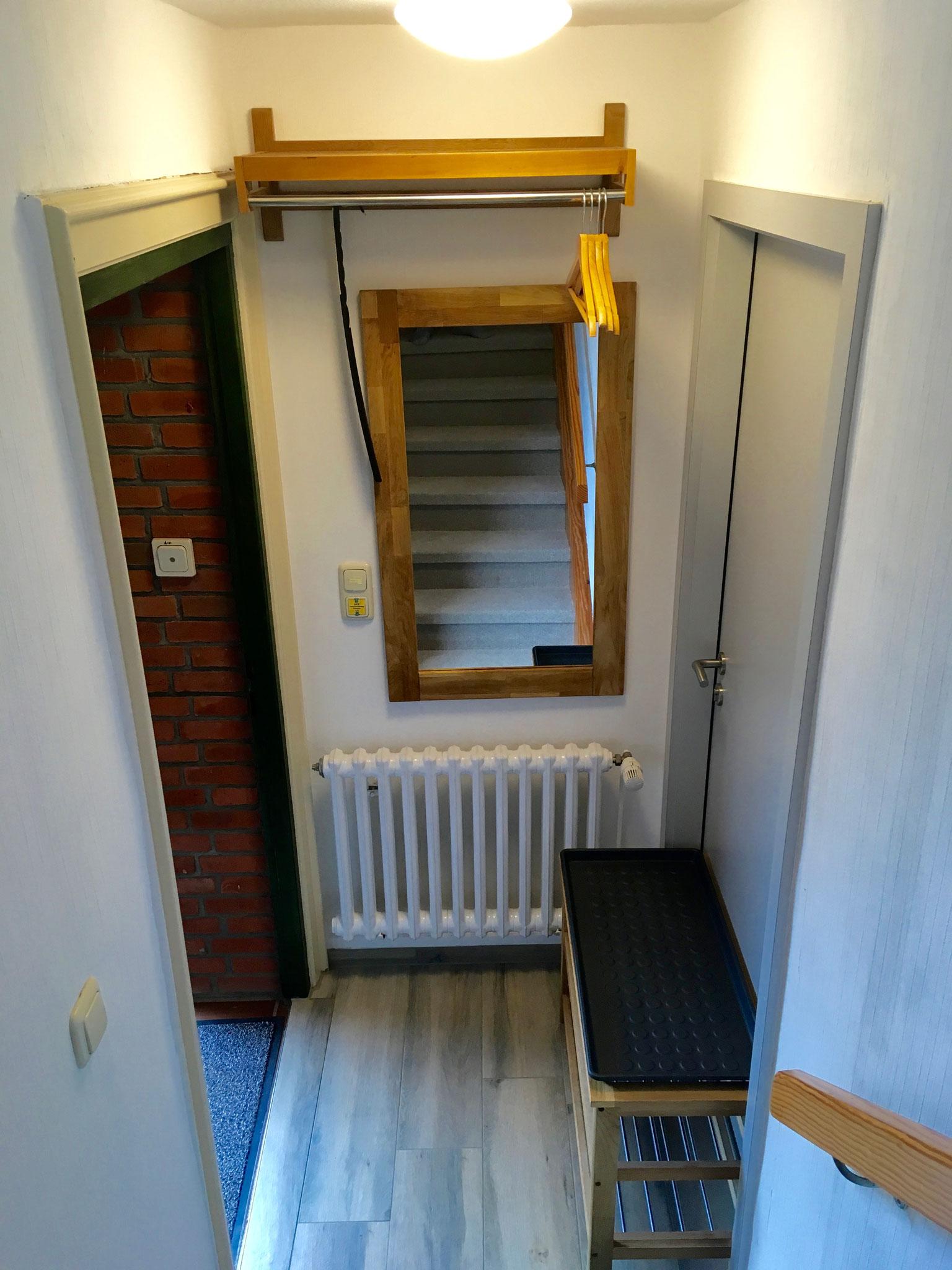 Eingang Garderobe EG