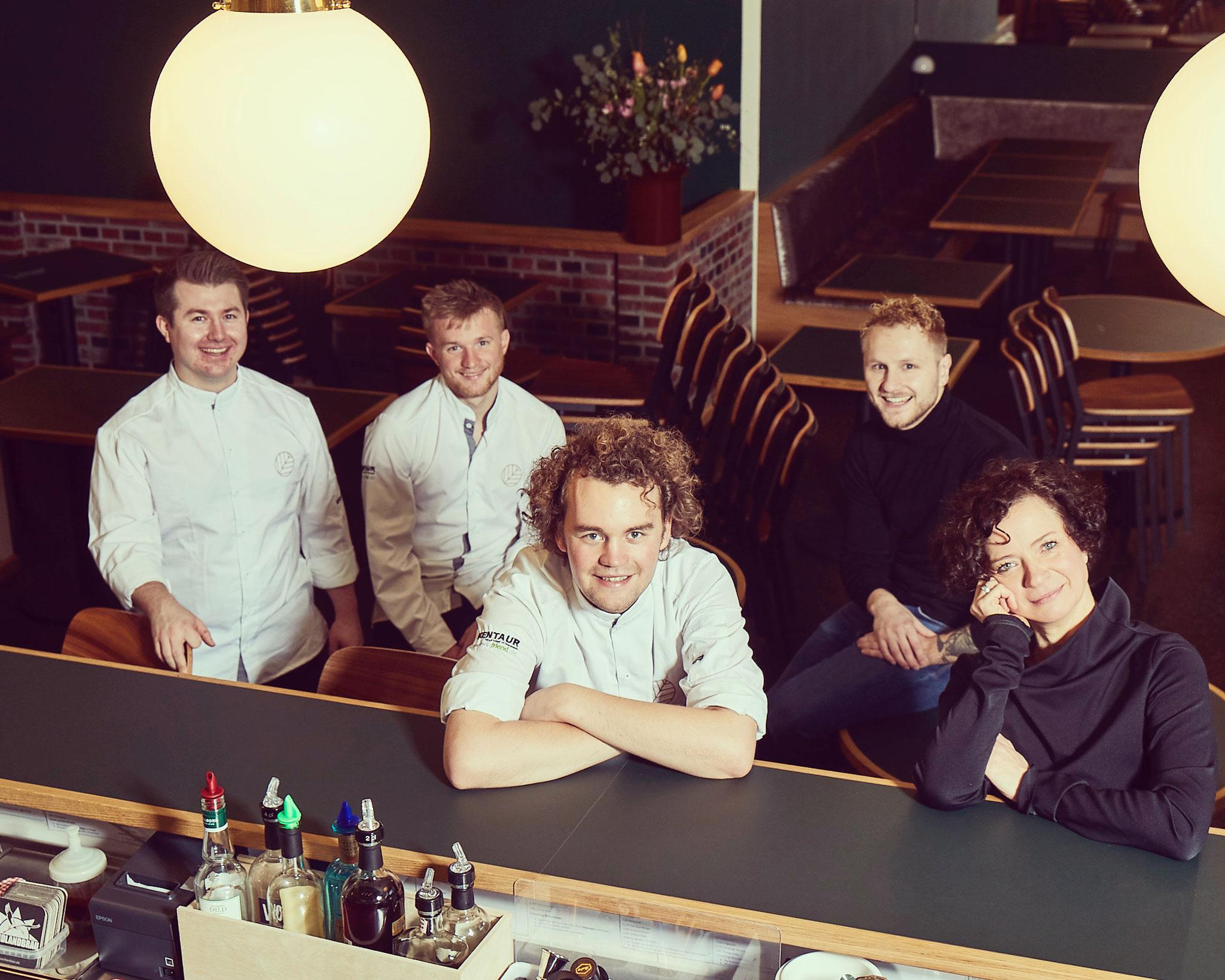 Team - Restaurant Klinker - Foto: Volker Renner