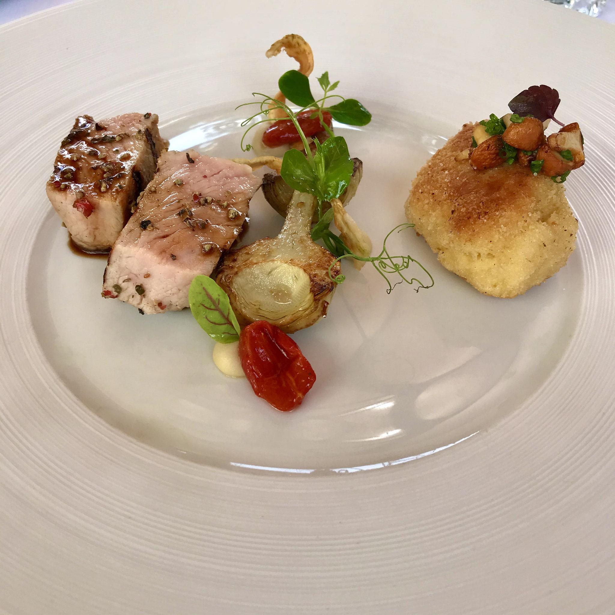 """Aus dem Menü beim Besuch des Foodtalkers im """"GästeHaus Erfort   5"""