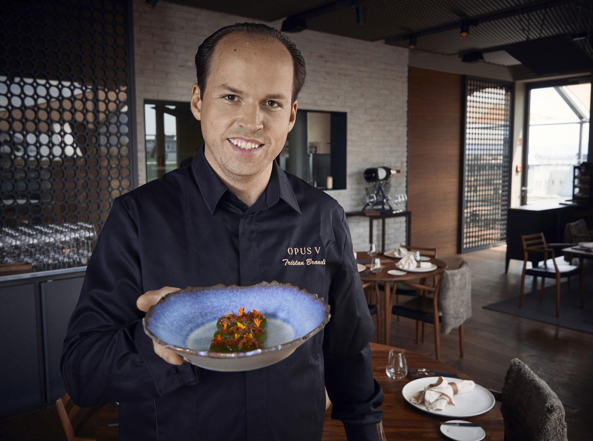 Tristan Brandt, Küchenchef im OPUS V - Foodtalker-Podcast #31