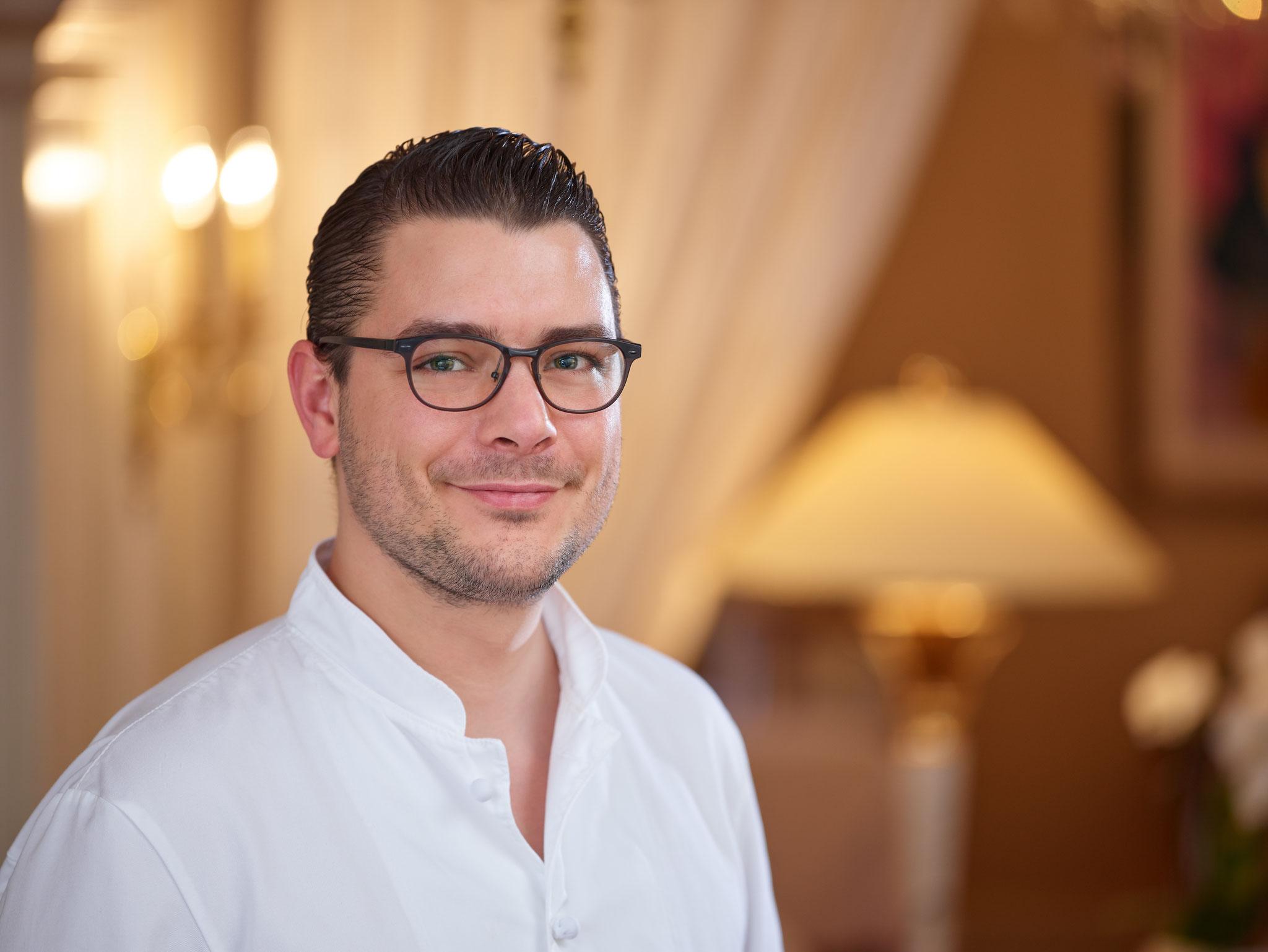 Clemens Rambichler,  Küchenchef im 3-Sterne-Restaurant Sonnora