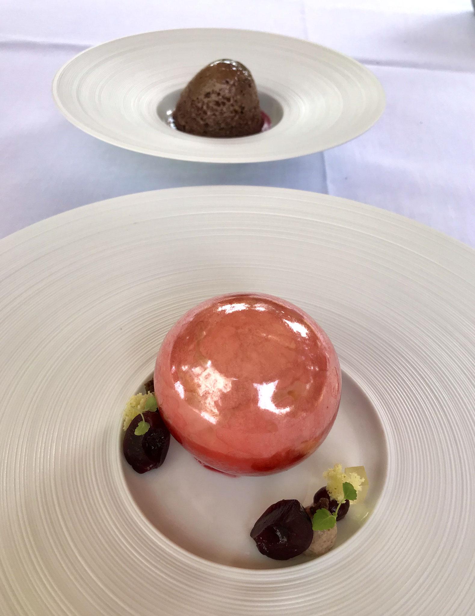 """Das Dessert beim Besuch des Foodtalkers im """"GästeHaus Erfort  6"""