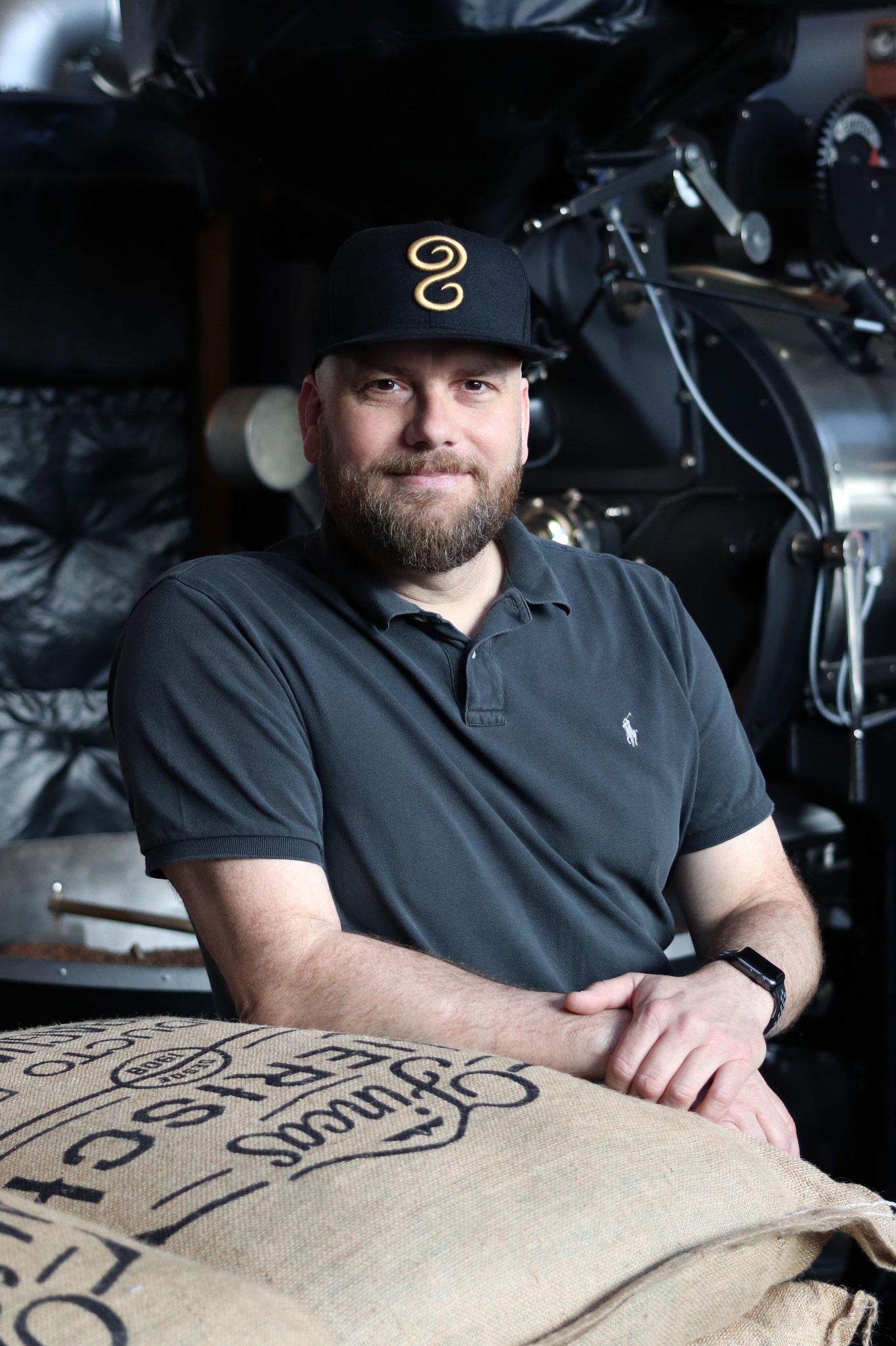 Thomas Kliefoth - Gründer und Geschäftsführer elbgold Kaffee