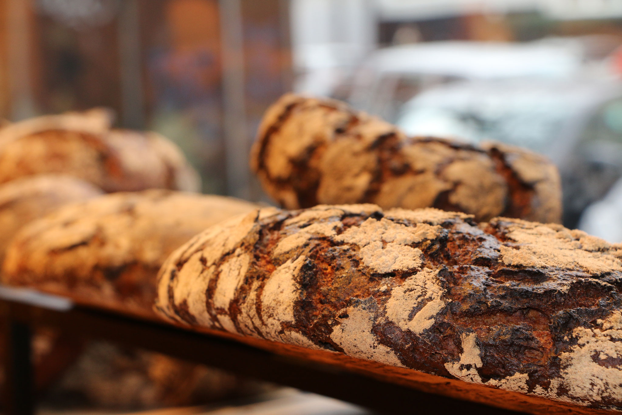 40 verschiedene Brot- und Backwaren