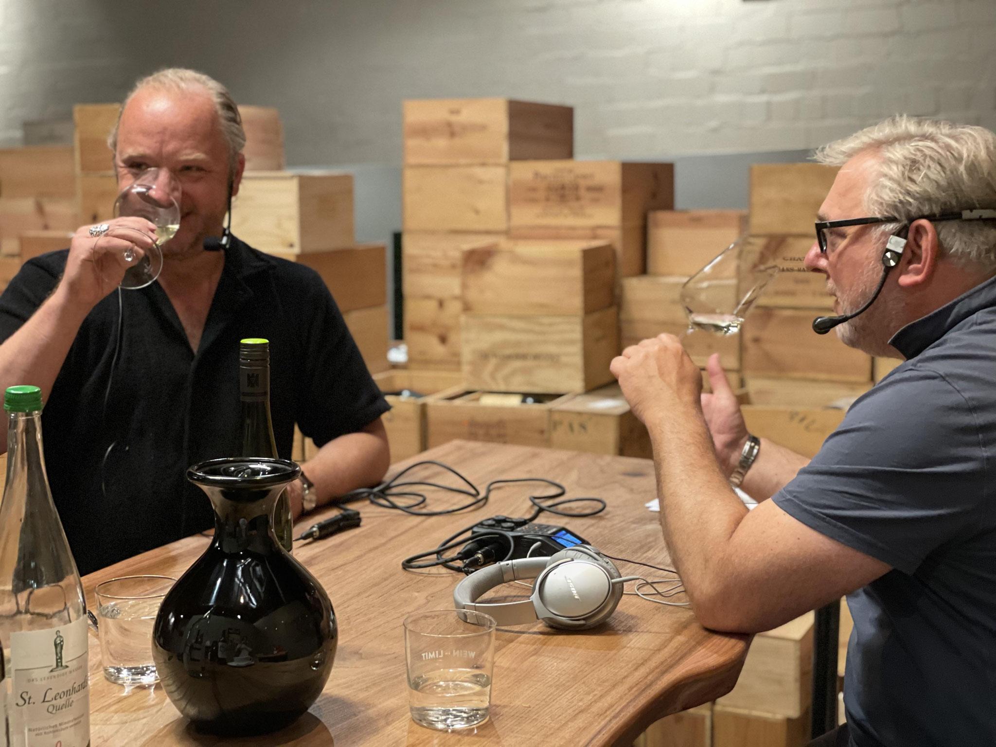 Hendrik Thoma & Foodtalker Boris Rogosch