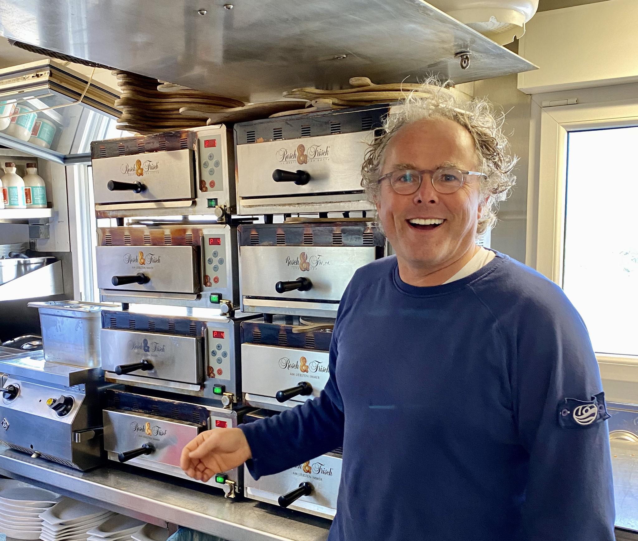 Sven Behrens in Buhne 16 Küche