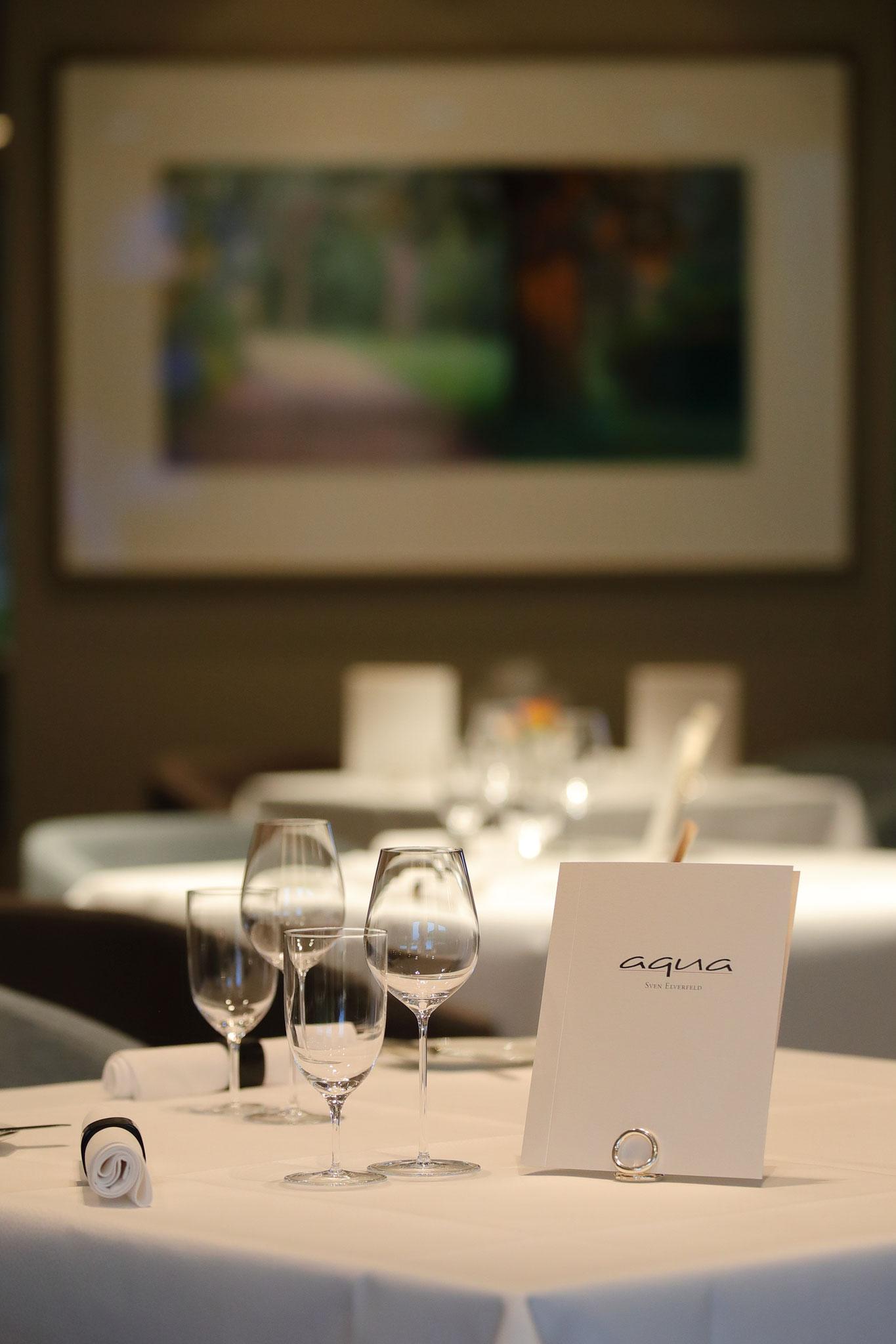 Restaurant Aqua  //  Foto: Uwe Spörl