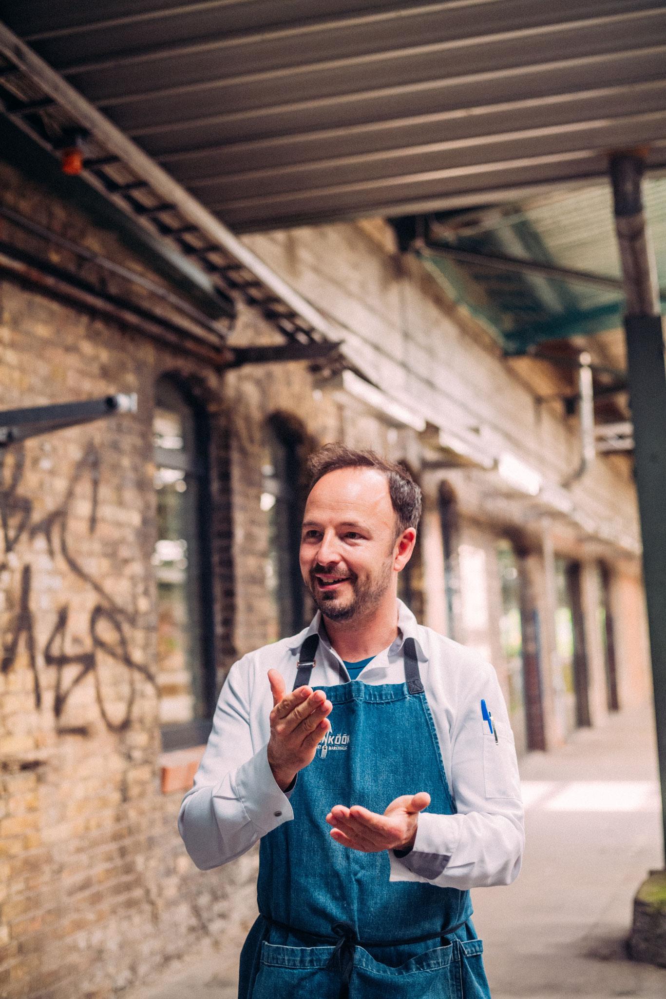 Thomas Sampl engagiert sich für regionale und saisonale Produkte