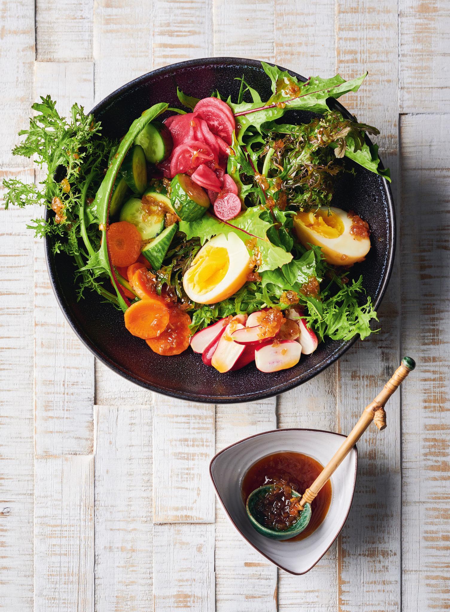 """Wafu Salat aus """"Meine grüne japanische Küche""""*"""