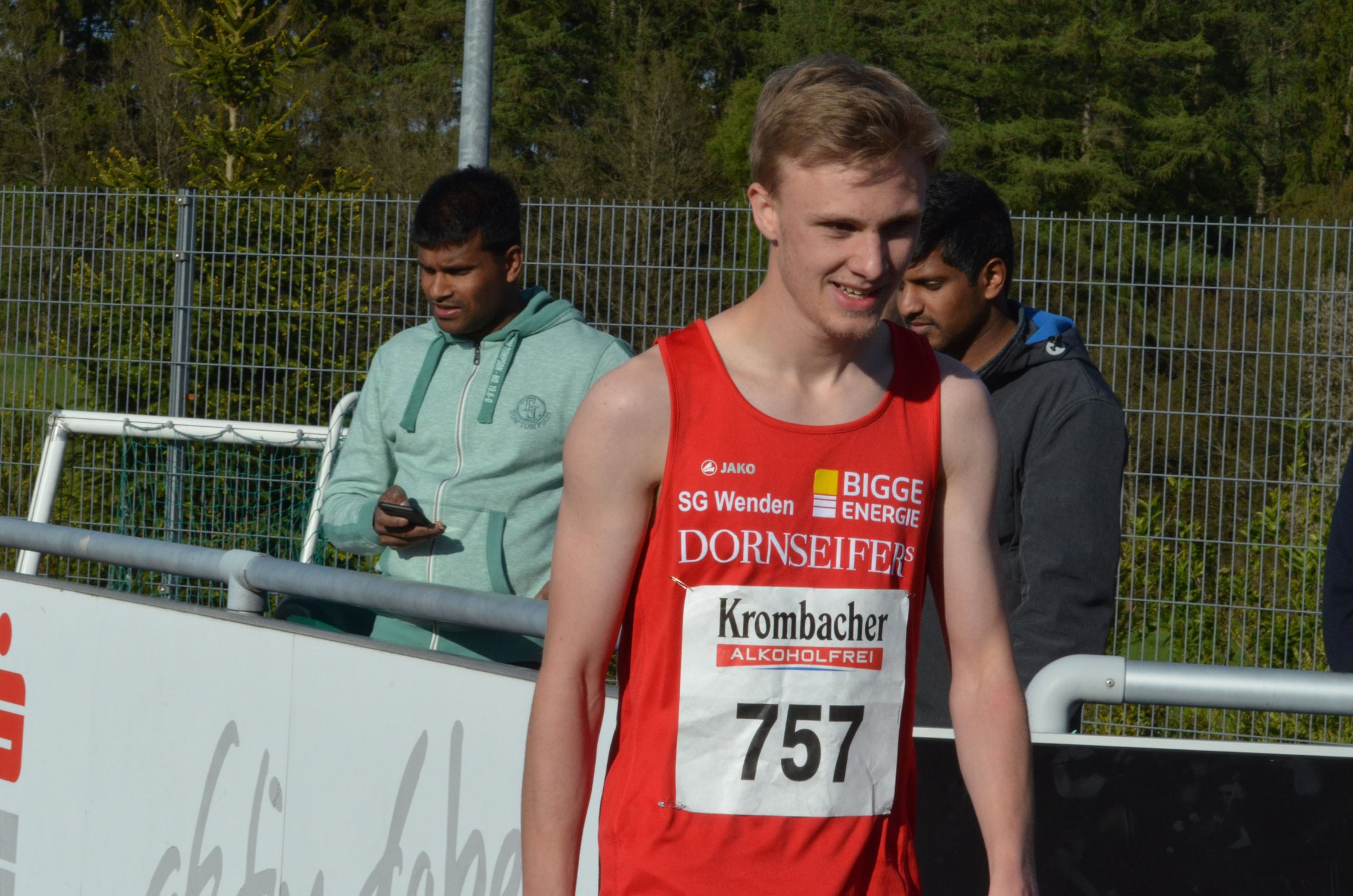 Alex Lind im vergangenen Jahr bei den Mittelstreckenmeisterschaften