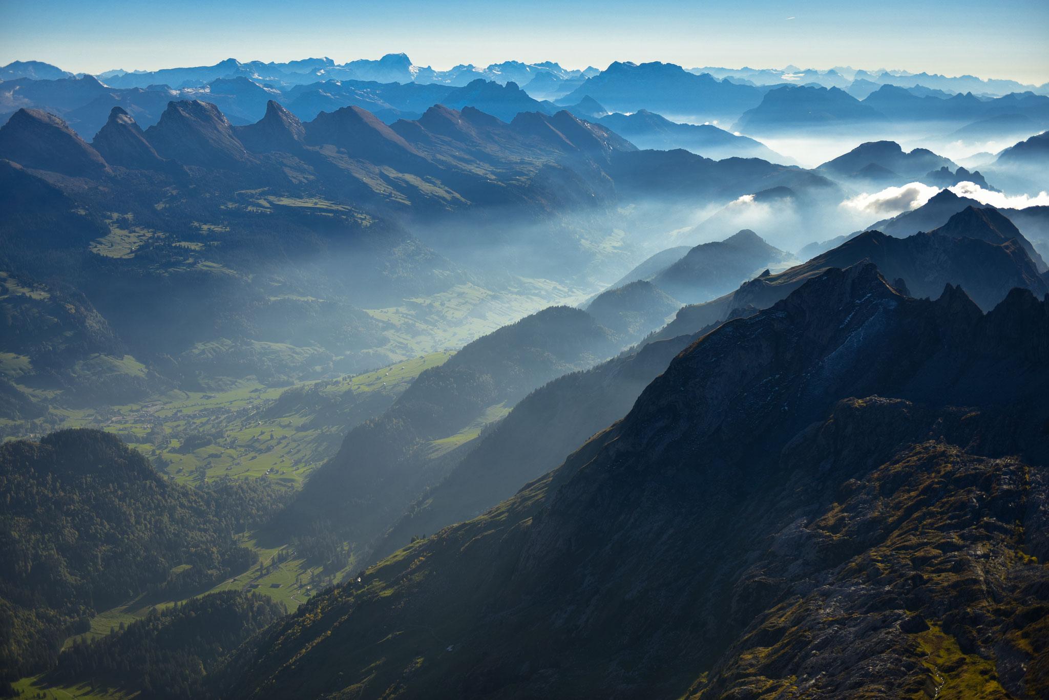 ... in den Alpen