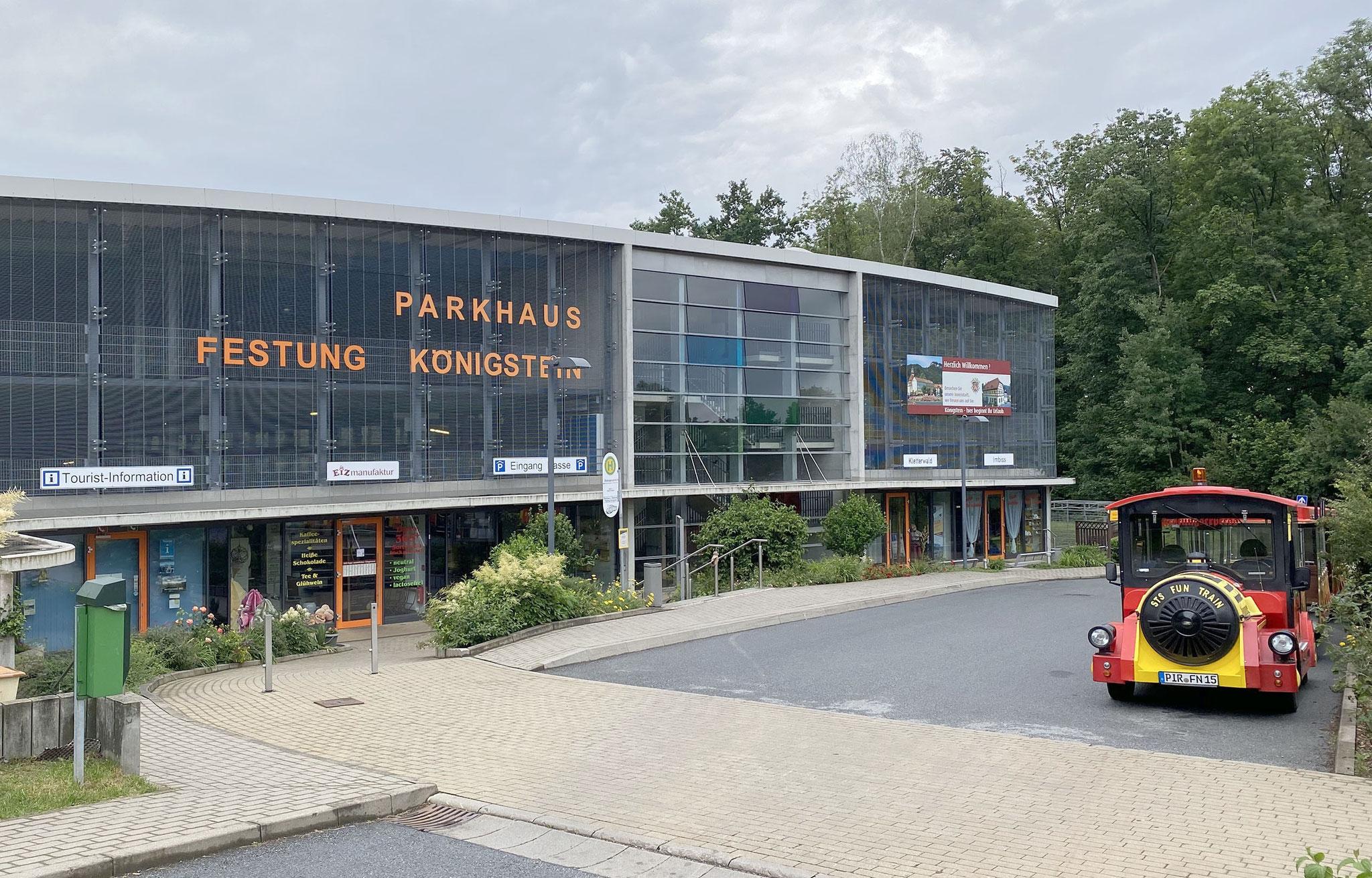 Parkhaus Eingang