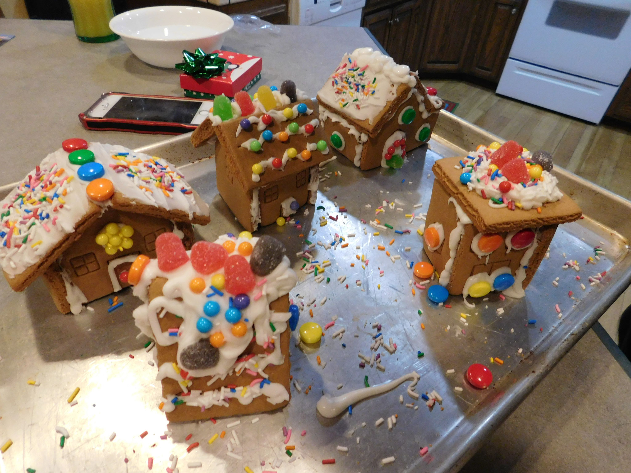 Alex's addition to Gingerbread Village