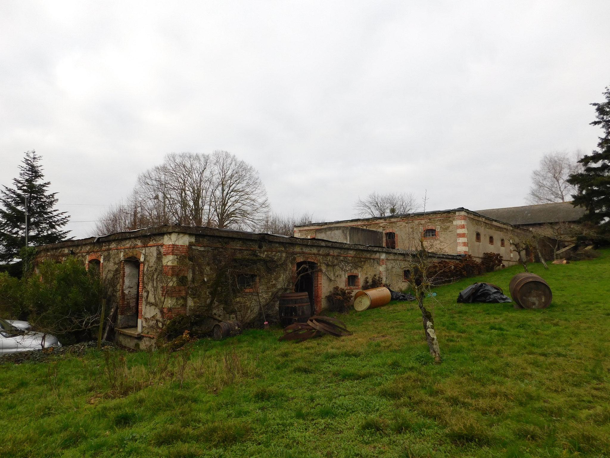 Chais (vignoble région Angers) : diagnostic état général de la structure (acier + maçonnerie en briques)