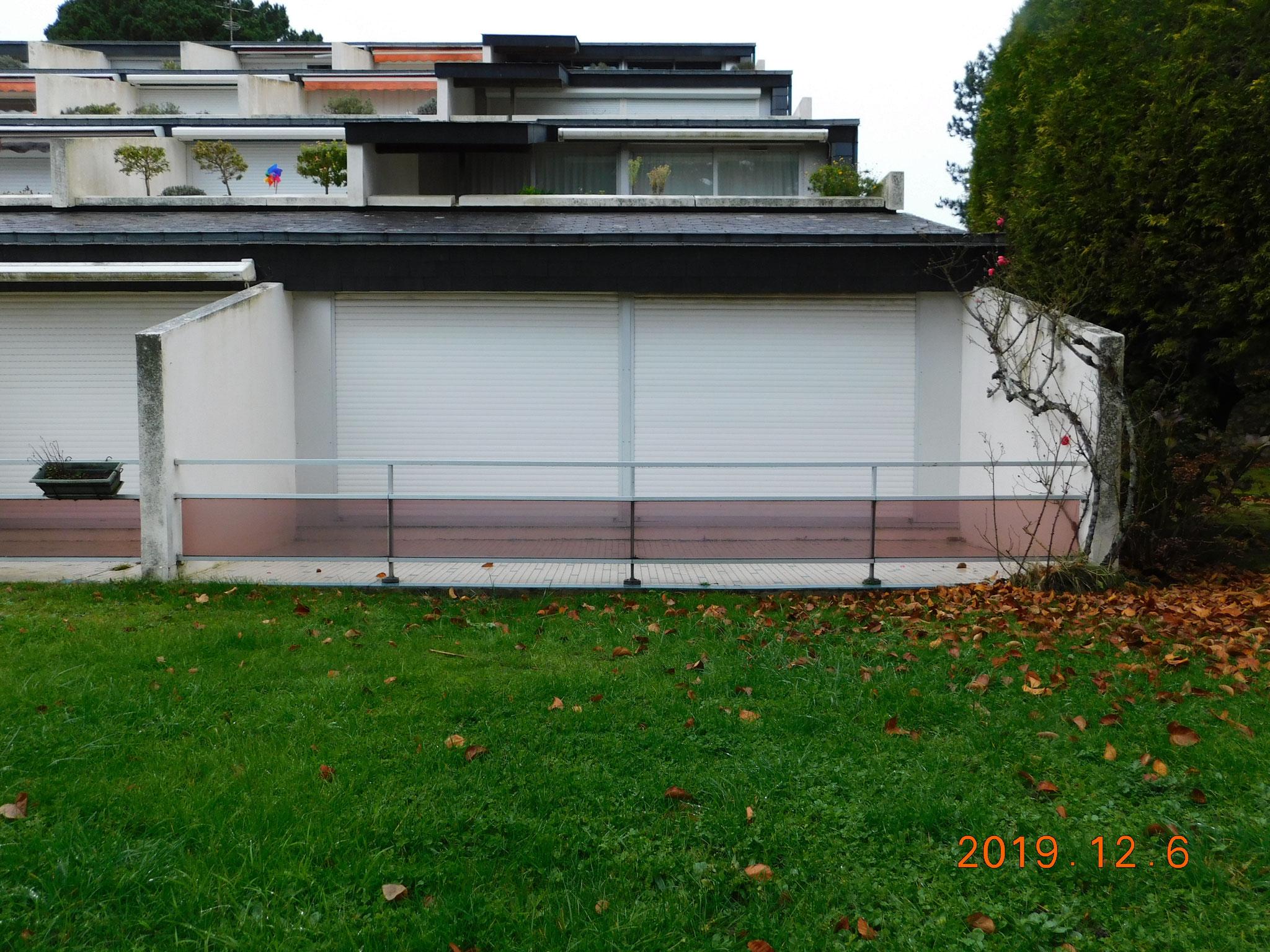 Immeuble d'appartements (la Trinité sur Mer) : expertise sur balcons