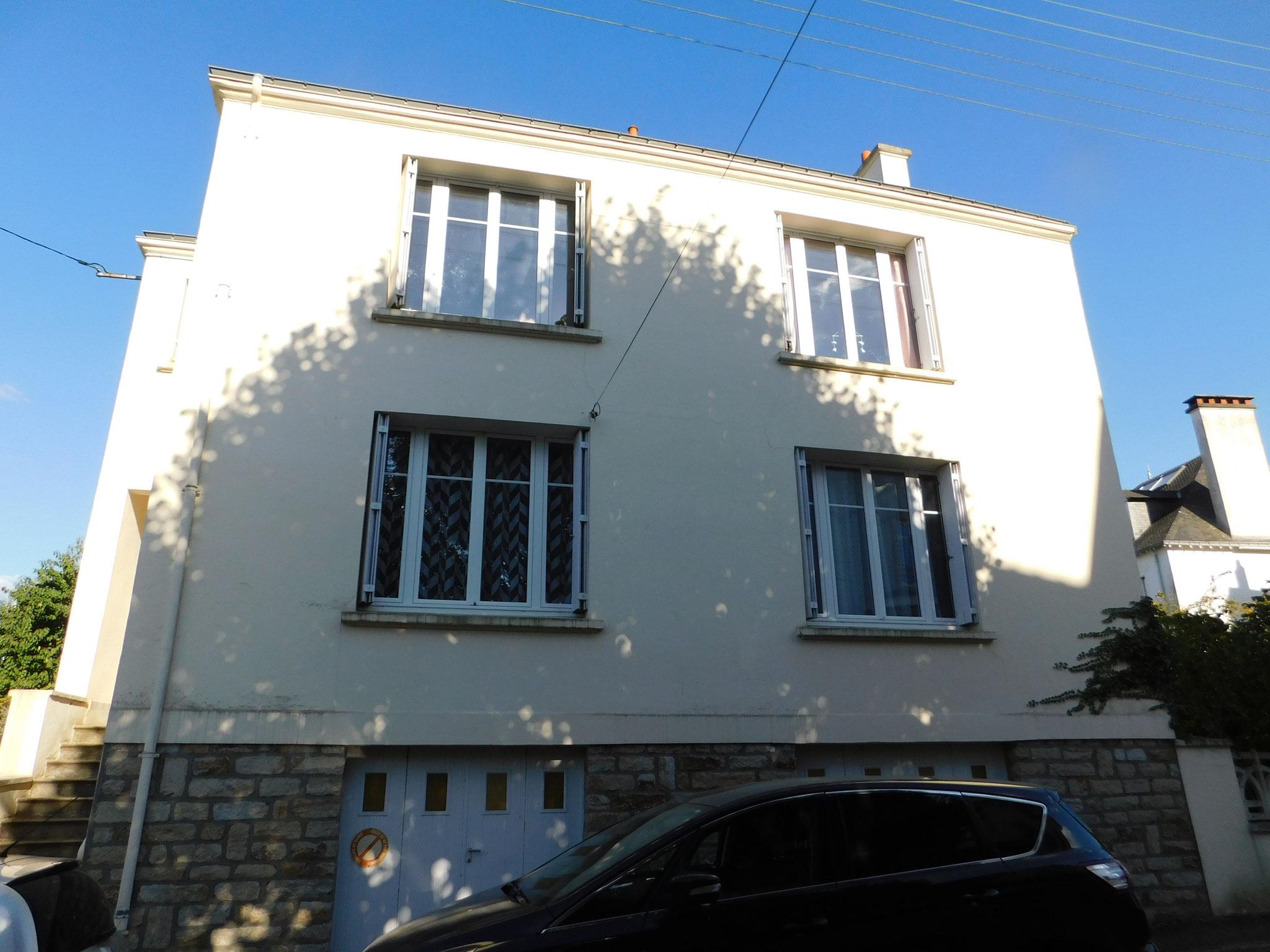 Maison de ville (Vannes) : expertise fissurations