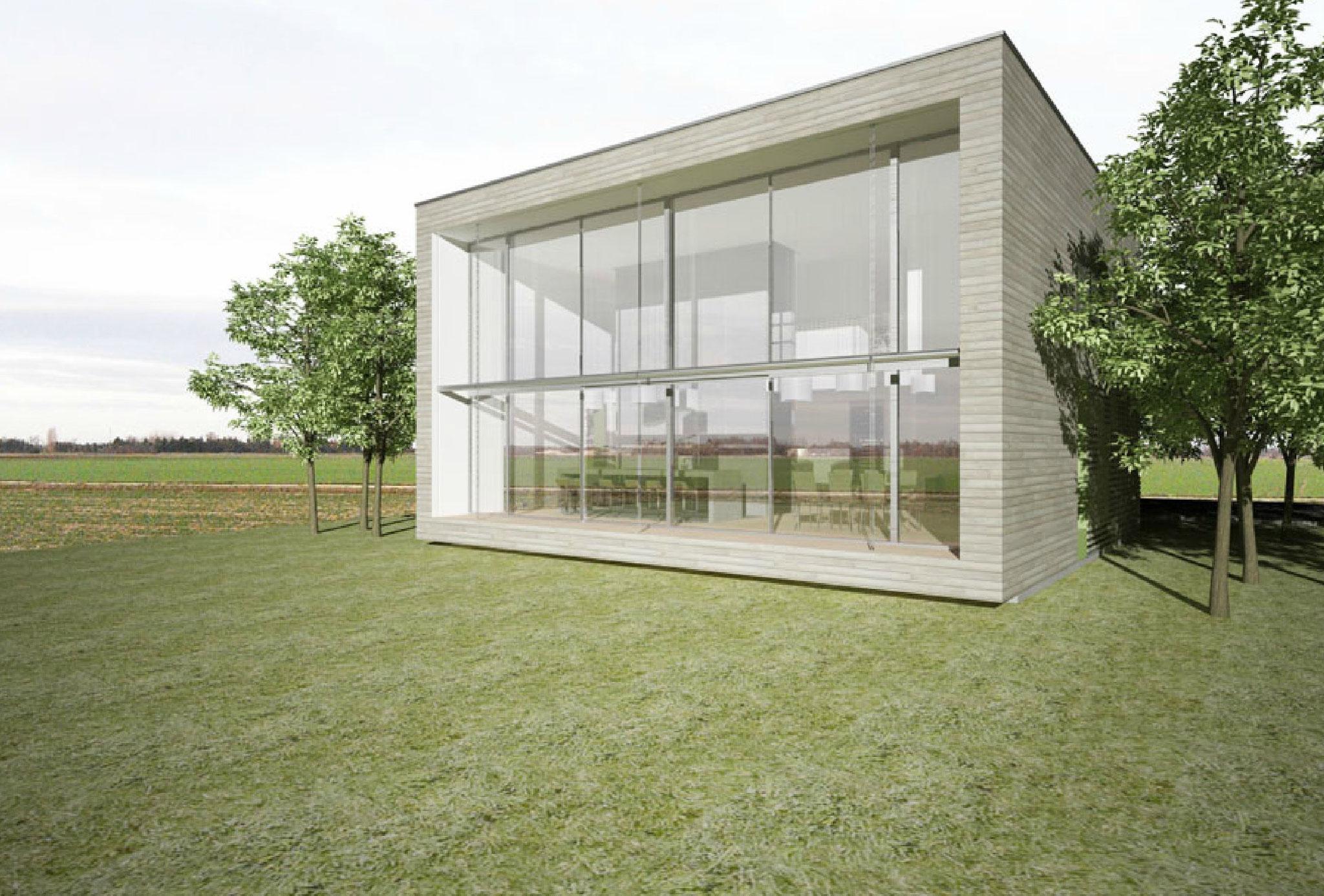 dessin architecte J. JACQMIN - 3D la Cube