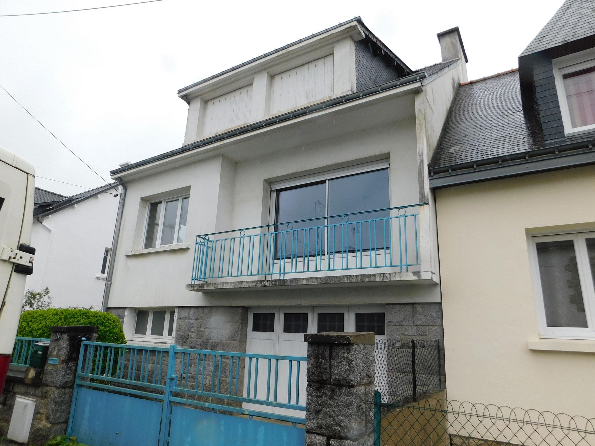 """Maison de ville années 60 (Lorient) : expertise """"état avant achat """""""