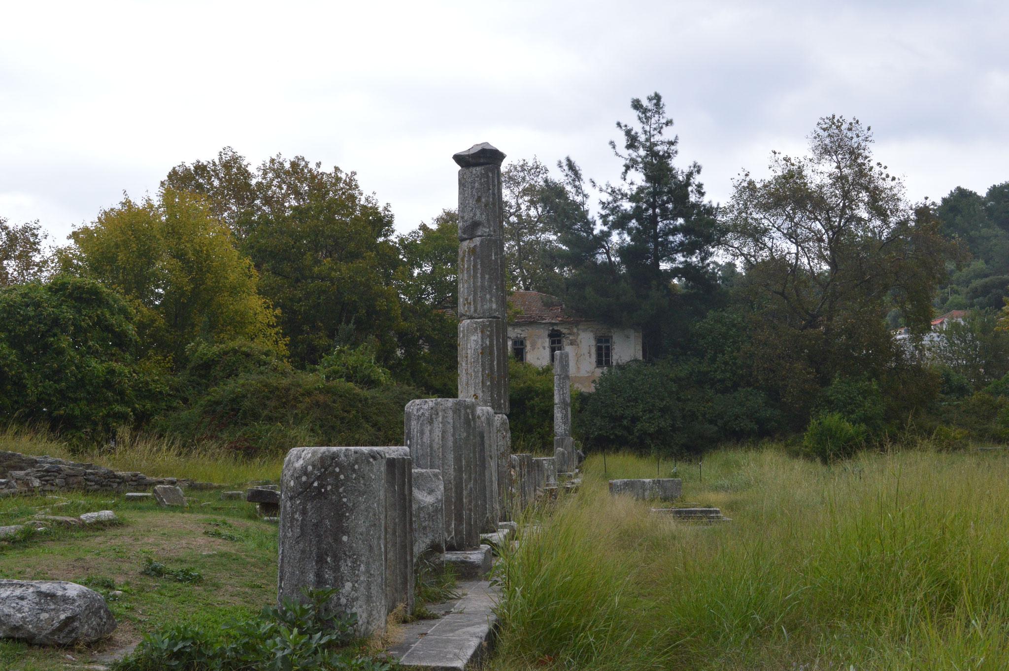 Antike Agora, Limenas