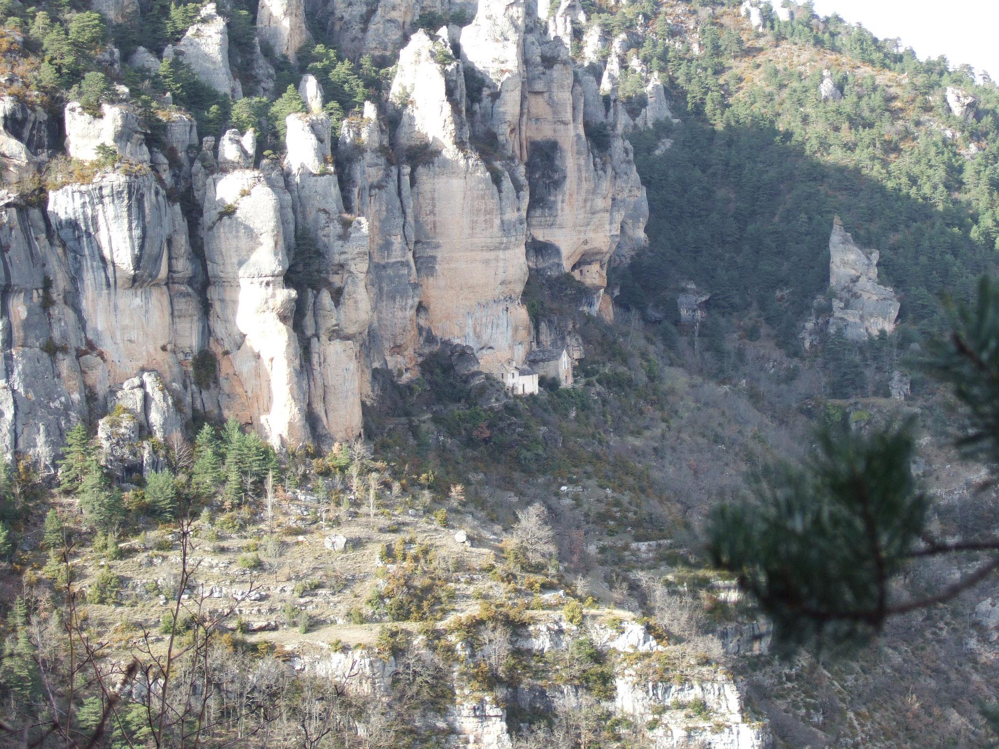 Cirque de Saint-Marcellin / gorges du Tarn