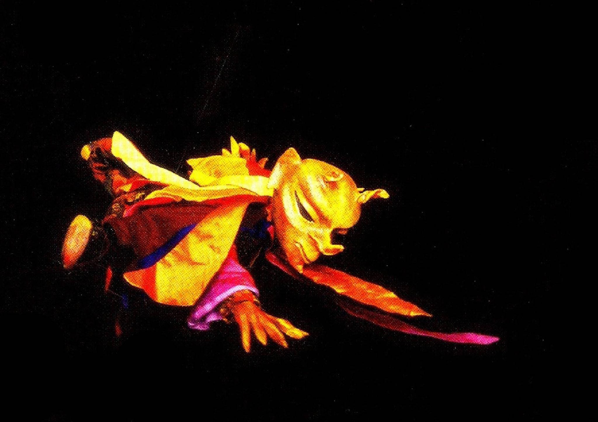 Furioser Tanz des Feuerteufels: PendelMarionetten
