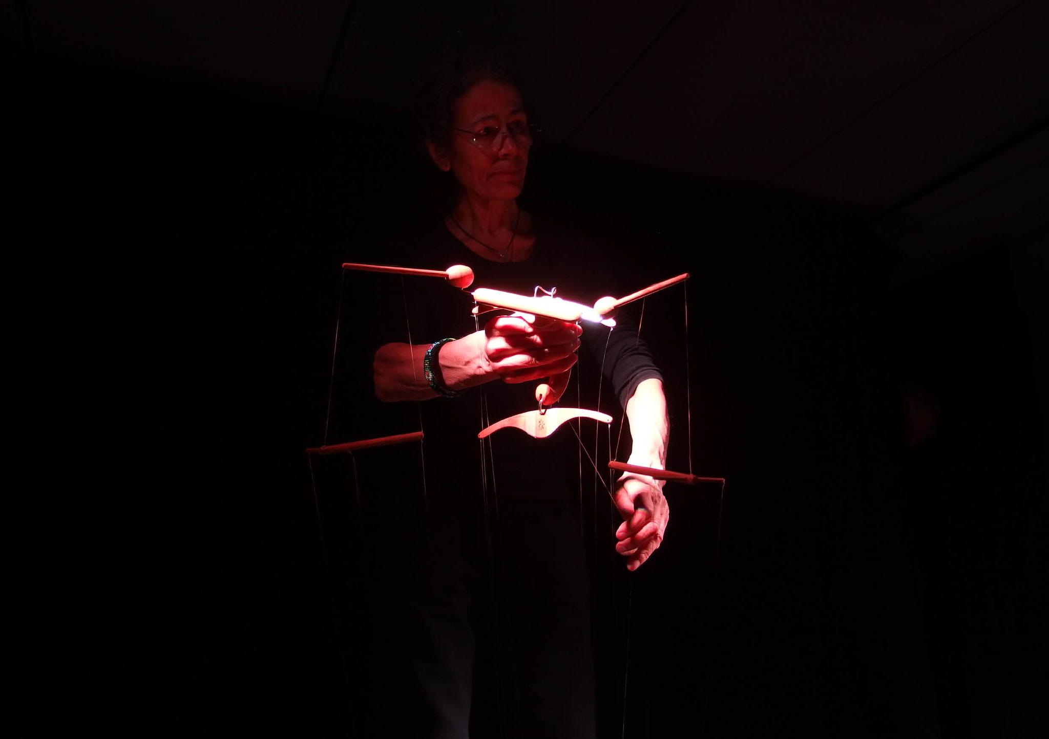 Marionettenspiel Cagibi: Catharine Cunz