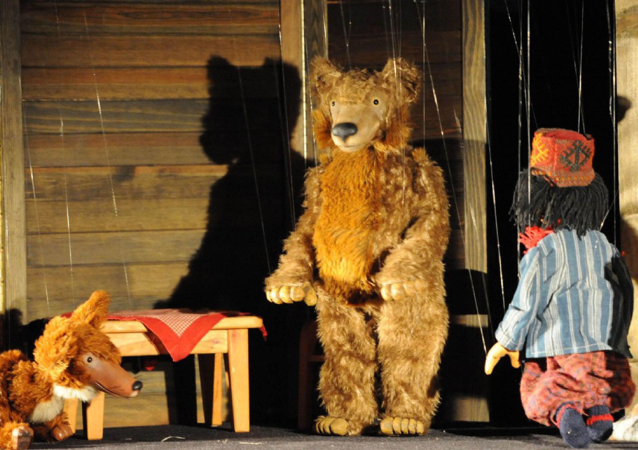 Marionettentheater Löwenzahn: Es klopft bei Wanja in der Nacht