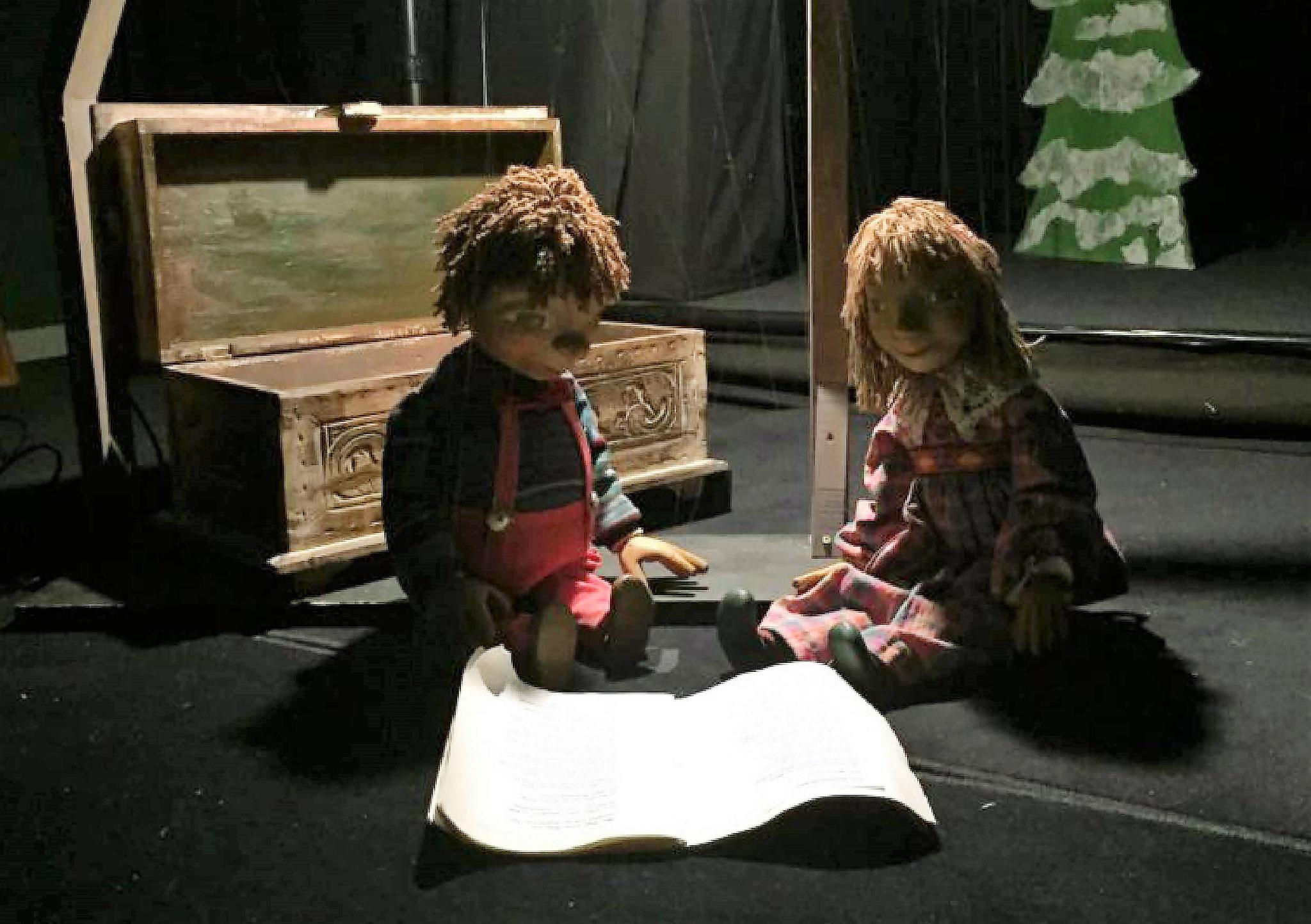 Marionettentheater Löwenzahn: Gedichte von Christian Morgenstern