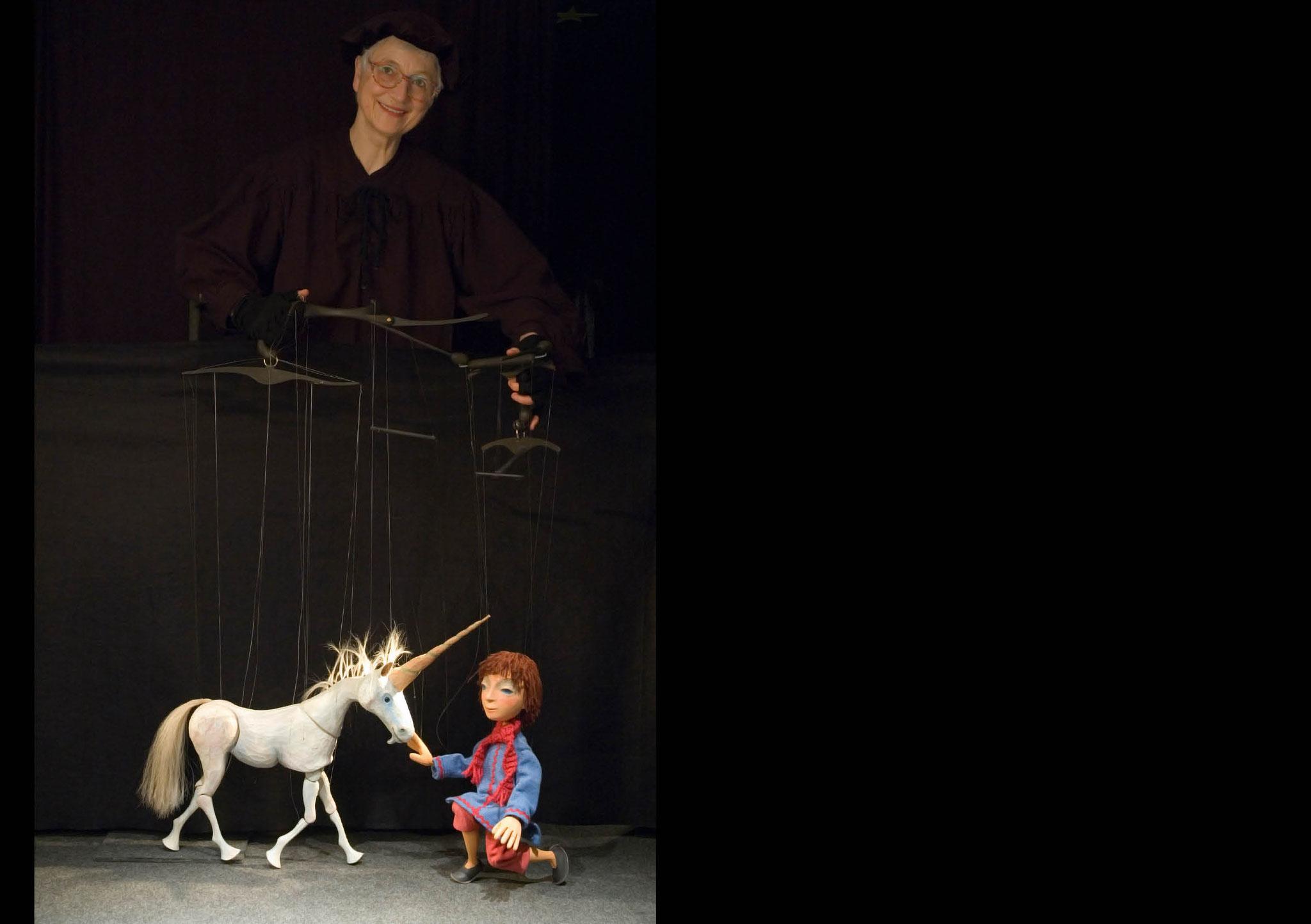 Marionettentheater Zaubervogel: Edith Nikel