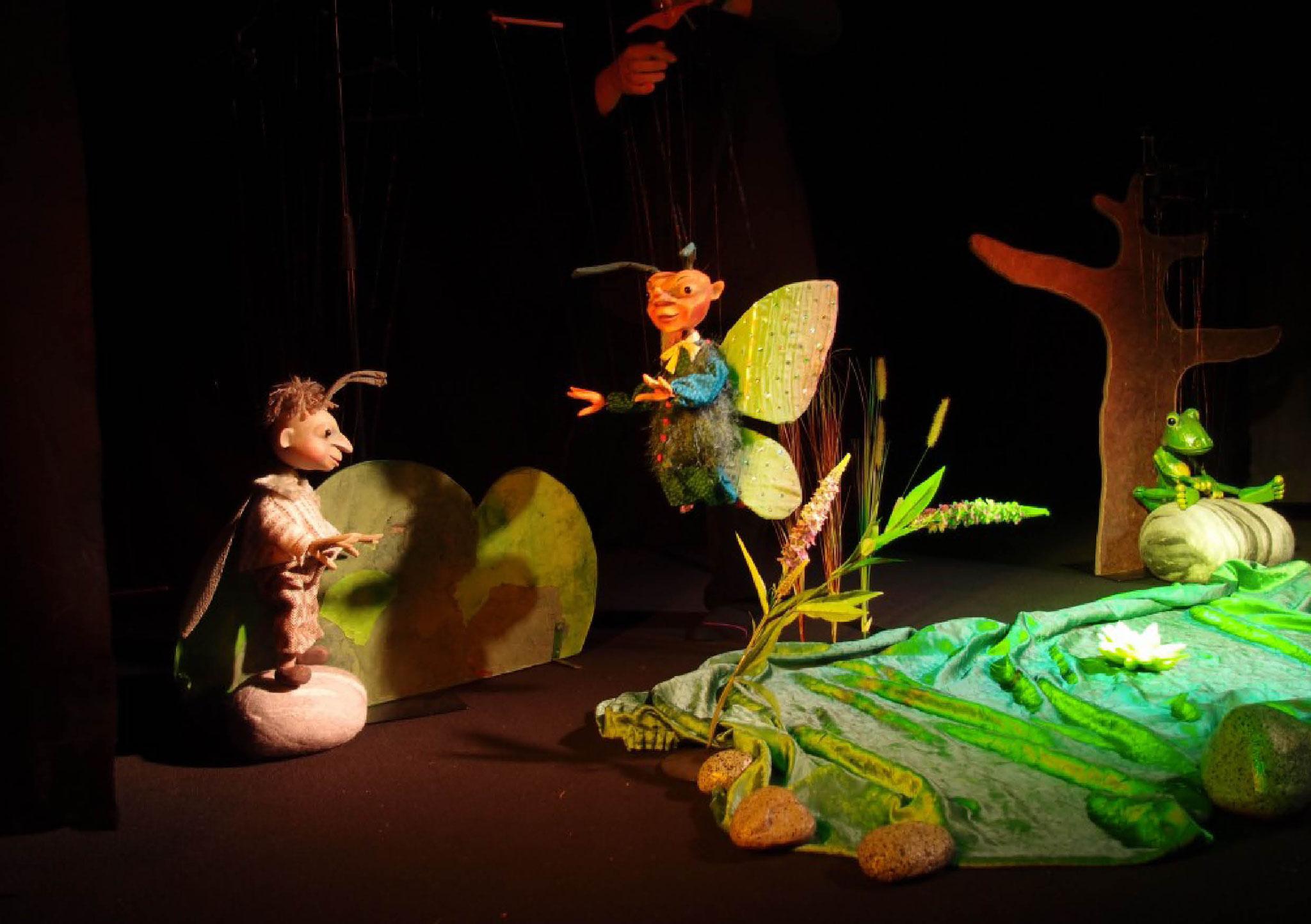 Marionettentheater Löwenzahn: Froschmeditation