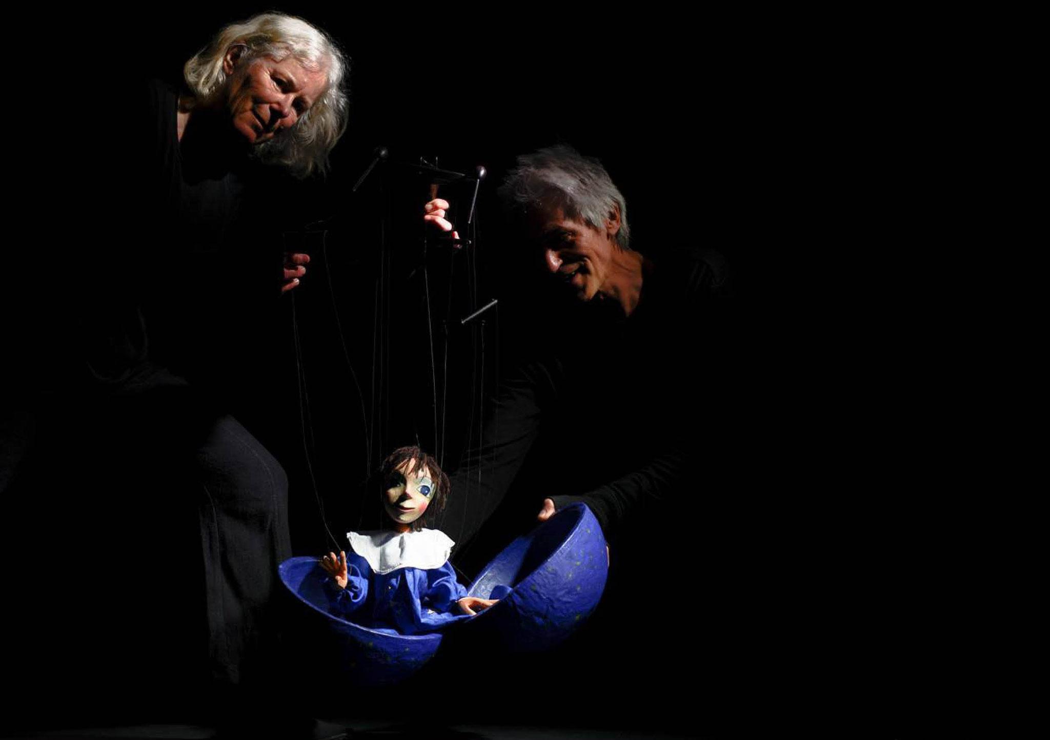 PendelMarionettenTheater: Marlene Gmelin und Detlef Schmelz
