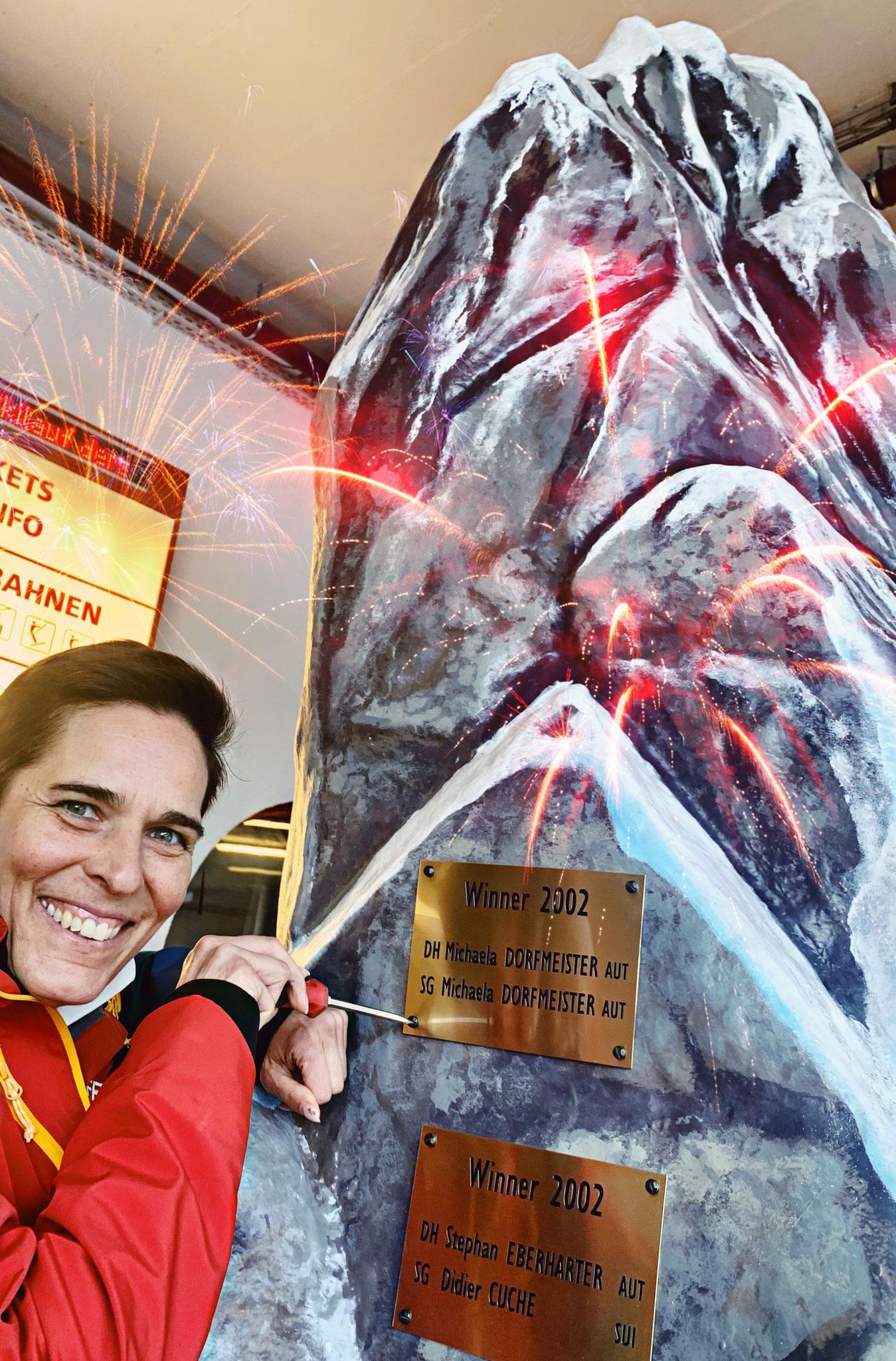 Michaela Dorfmeister 2fache Siegerin