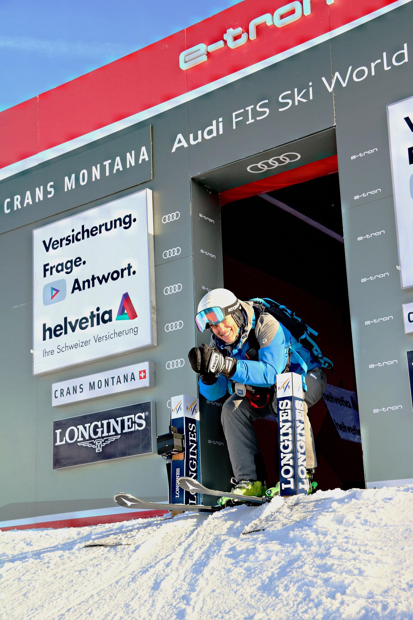 Michaela Dorfmeister race start