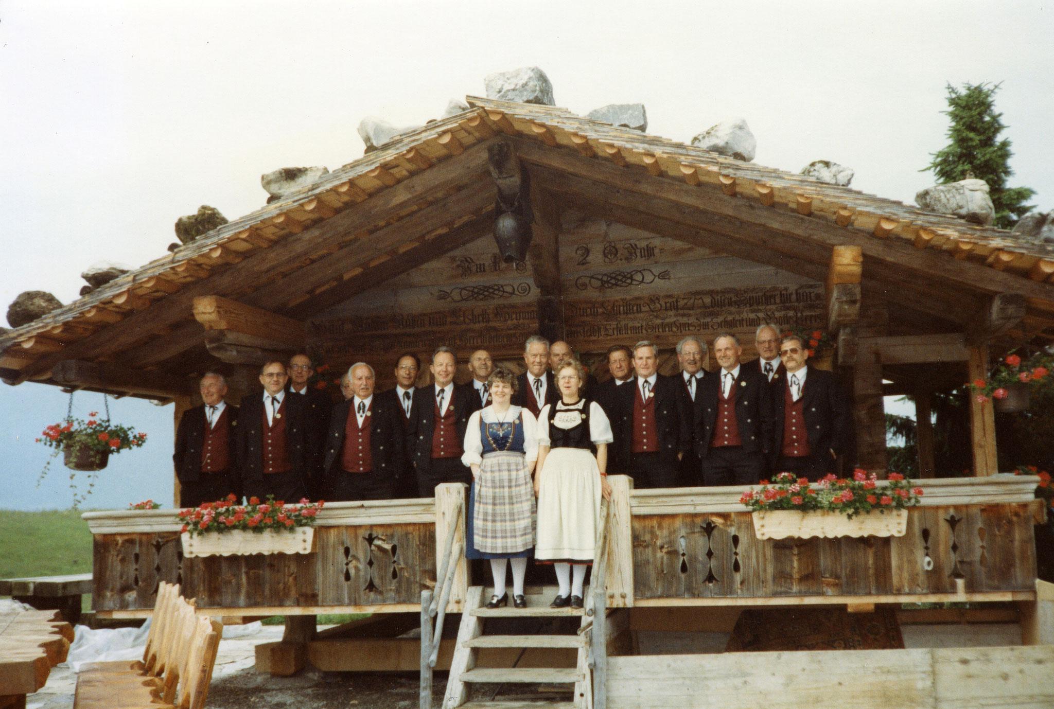 Heimfahrt nach Aigle 1994