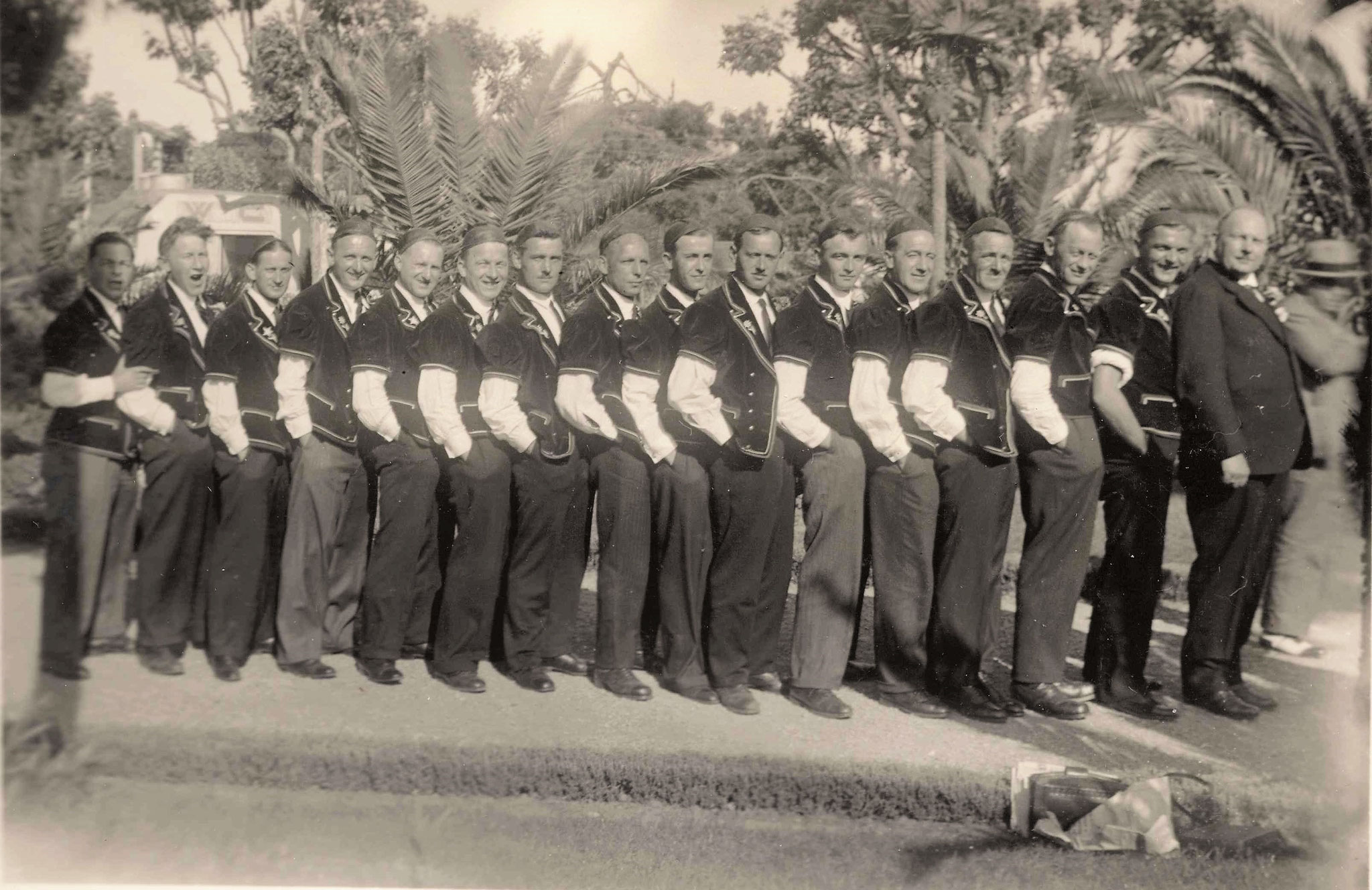 Riviera-Reise Juan-les-Pins 1936