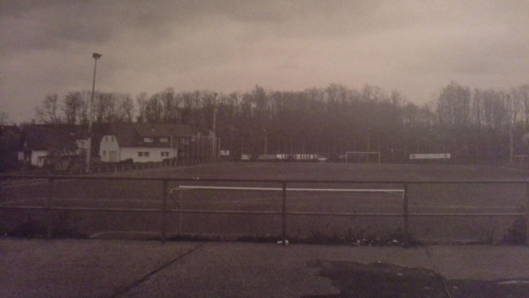 Hartplatz 1980er Jahre