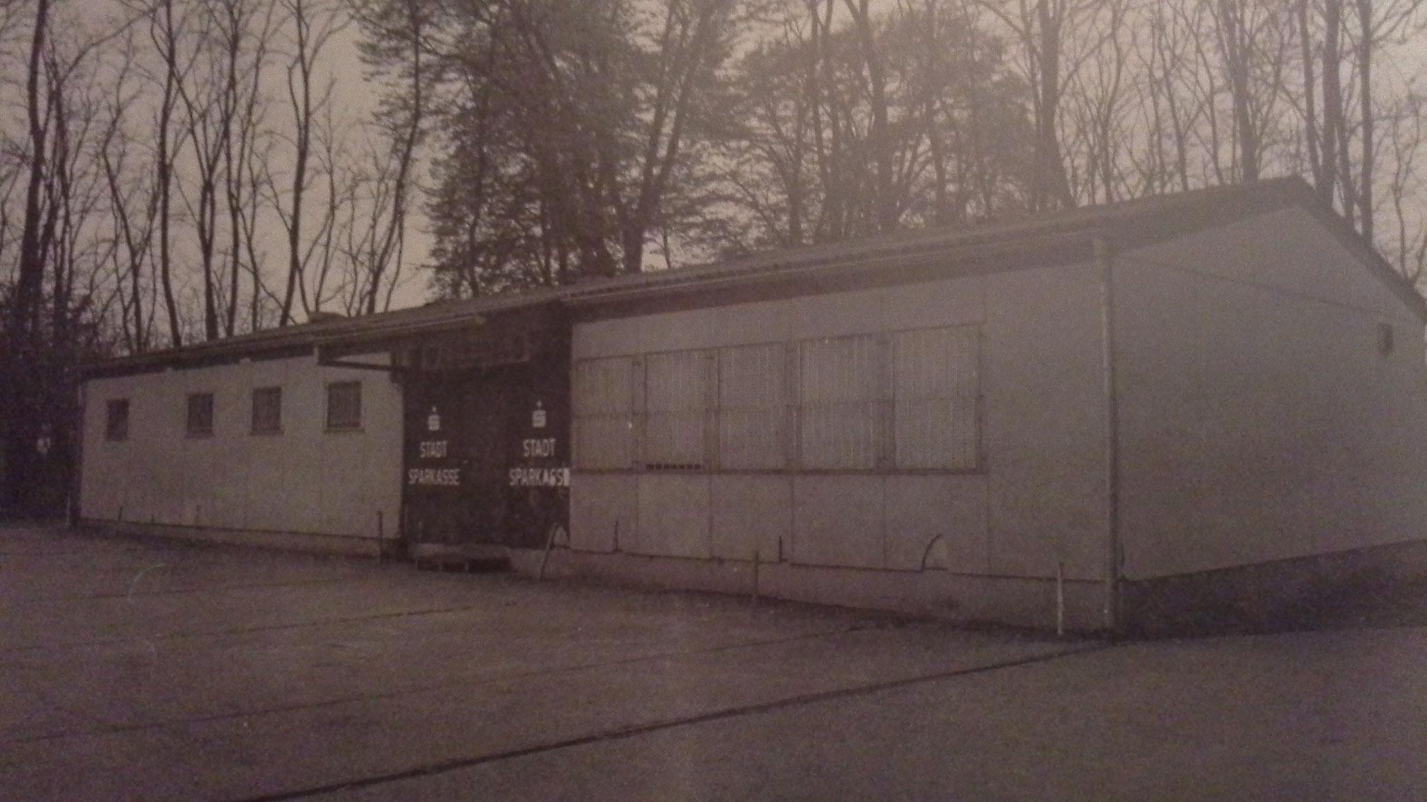 Clubheim 1980er Jahre