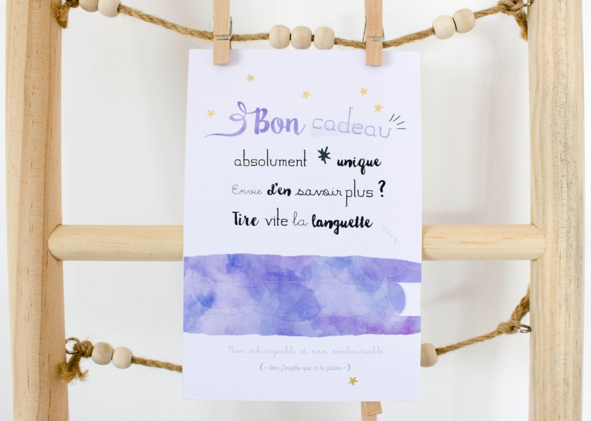 Annonce Témoin Mariage concernant bon cadeau violet : demande témoin - annonce grossesse - annonce