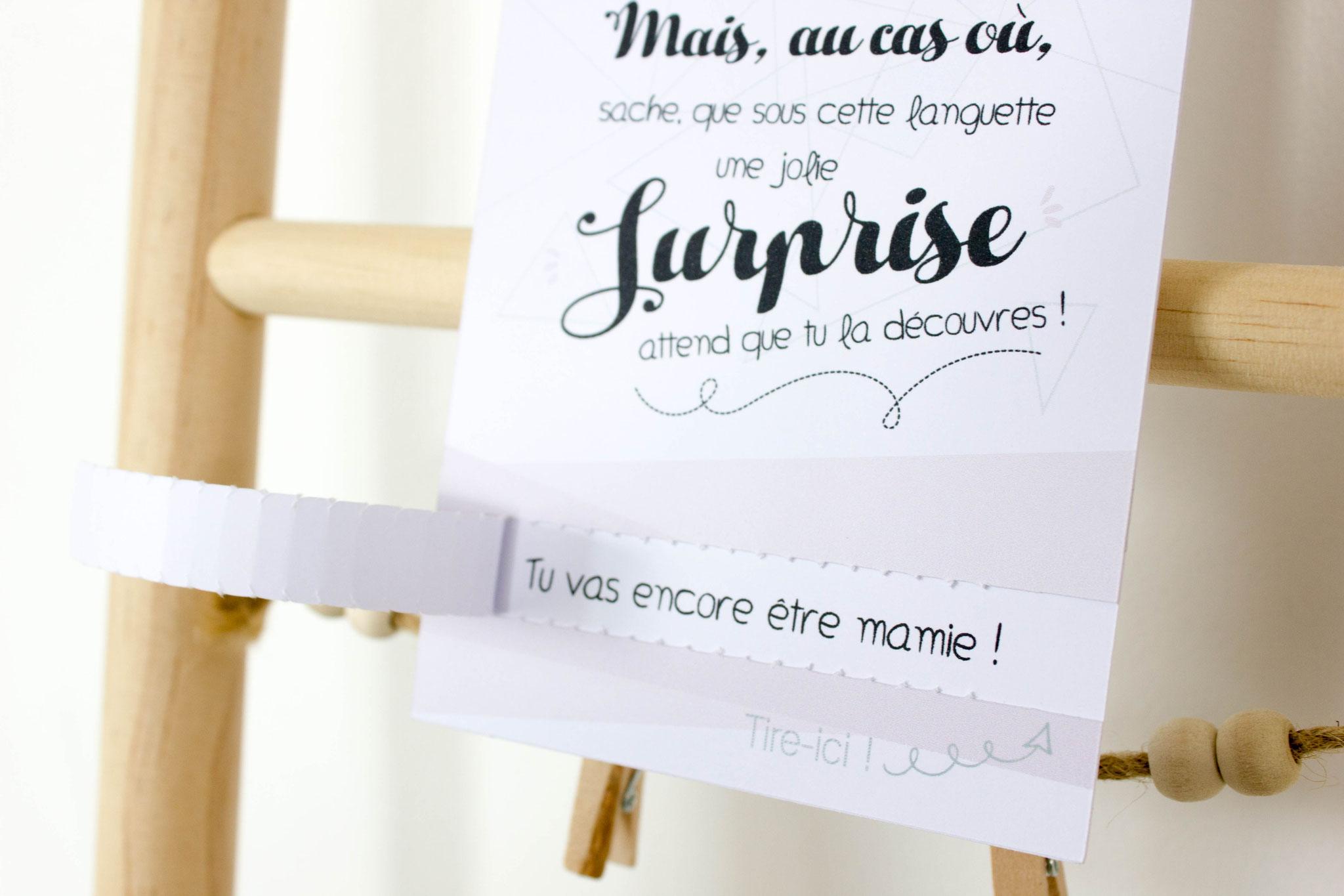 Carte Surprise Nude Demande Témoin Annonce Grossesse Annonce Mariage